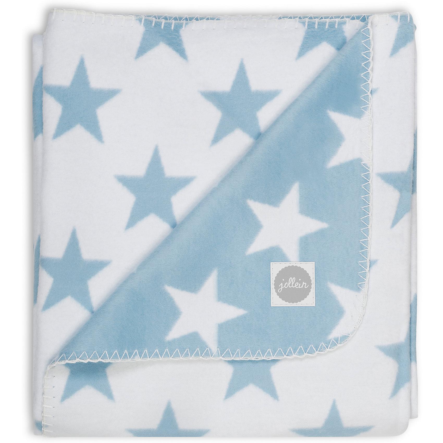 Байковый плед 100х150 см, Jollein, Light blue StarJollein предлагает большой выбор цветов мягких пледов для малышей. Легкие, но при этом очень теплые пледы можно сочетать с чем угодно: с детской комнатой, с одеждой, с коляской. Пледы с модными рисунками дополнят модный гардероб малыша. Плед со звездами двухсторонний. С одной стороны он белый с голубыми звездами, с другой стороны голубой с белыми звездами. Красиво упакован. Лучший выбор на выписку или подарок на рождение. Выполнены из 100 % хлопка. Размер: 100х150 см Уход: рекомендуется стирка при 40 градусах, не линяет, сохраняет такой же яркий, насыщенный цвет.<br><br>Ширина мм: 380<br>Глубина мм: 345<br>Высота мм: 30<br>Вес г: 745<br>Возраст от месяцев: 0<br>Возраст до месяцев: 36<br>Пол: Унисекс<br>Возраст: Детский<br>SKU: 5367136