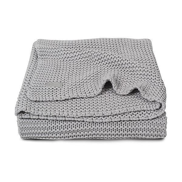 Вязаный плед 100х150 см, Jollein, Light greyПледы и покрывала<br>Характеристики:<br><br>• Предназначение: для сна<br>• Пол: универсальный<br>• Сезон: круглый год<br>• Коллекция: Heavy knit (Крупная вязка)<br>• Степень утепления: без утепления<br>• Температурный режим: от +15? С<br>• Цвет: светло серый<br>• Тематика рисунка: без рисунка<br>• Материал: 50% хлопок, 50% акрил<br>• Размер (Ш*Д): 100*150 см<br>• Вес: 650 г<br>• Особенности ухода: машинная или ручная стирка при температуре не более 60 градусов<br><br>Вязаный плед 75х100 см, Jollein, Light grey от торговой марки Жолляйн, которая является признанным лидером среди аналогичных брендов, выпускающих детское постельное белье и текстиль для новорожденных и детей. Продукция этого торгового бренда отличается высоким качеством и дизайнерским стилем. <br><br>Плед выполнен из вязаного полотна, выполненного из сочетания хлопка и акрила, что обеспечивает изделию высокие гигиенические, гигроскопические и гипоаллергенные качества. Благодаря акрилу плед хорошо сохраняет цвет и форму. Имеет легкий вес и компатный размер в сложенном виде, при этом не сминается. <br><br>Плед выполнен в брендовом дизайне: полотно серого цвета, связанное крупным платочным узором. Вязаный плед 100х150 см, Jollein, Light grey – это плед, который подарит тепло, уют и роскошь классического стиля!<br><br>Вязаный плед 100х150 см, Jollein, Light grey можно купить в нашем интернет-магазине.<br><br>Ширина мм: 240<br>Глубина мм: 300<br>Высота мм: 100<br>Вес г: 650<br>Возраст от месяцев: 0<br>Возраст до месяцев: 36<br>Пол: Унисекс<br>Возраст: Детский<br>SKU: 5367169