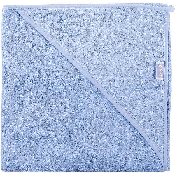 Полотенце с уголком 75 х 75 см, Jollein, Light blue