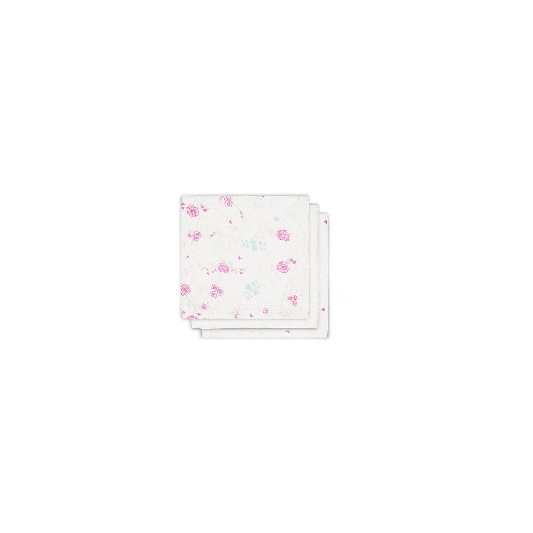 Салфетки для лица, 3 шт, Jollein, Blooming pinkУход за ребенком<br>Характеристики:<br><br>• Вид детского текстиля: салфетки для лица<br>• Пол: для девочки<br>• Цвет: белый, розовый<br>• Тематика рисунка: цветы<br>• Материал: 100% хлопок<br>• Размер: 30*30 см<br>• Вес: 90 г<br>• Особенности ухода: машинная или ручная стирка при температуре не более 40 градусов<br><br>Салфетки для лица, 3 шт, Jollein, Blooming pink от торговой марки Жолляйн, которая является признанным лидером среди аналогичных брендов, выпускающих детское постельное белье и текстиль для новорожденных и детей. Продукция этого торгового бренда отличается высоким качеством и дизайнерским стилем. <br><br>Салфетки выполнены из муслина, который состоит из натурального хлопка, что обеспечивает повышенную впитываемость, быстрое высыхание и сохранение формы и цвета при частных стирках. <br><br>Салфетки имеют компактный размер, поэтому их удобно брать с собой в поездки и в детскую поликлинику. Салфетки для лица, 3 шт, Jollein, Blooming pink обеспечат малышу опрятный внешний вид во время кормления или прогулки!<br><br>Салфетки для лица, 3 шт, Jollein, Blooming pink можно купить в нашем интернет-магазине.<br><br>Ширина мм: 150<br>Глубина мм: 160<br>Высота мм: 20<br>Вес г: 300<br>Возраст от месяцев: 0<br>Возраст до месяцев: 36<br>Пол: Женский<br>Возраст: Детский<br>SKU: 5367200