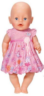 Zapf Creation Платье для куклы, розовое, BABY born