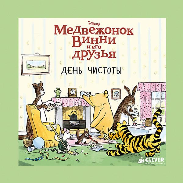 День чистоты, Медвежонок Винни и его друзьяСказки<br>Характеристики книги День чистоты, Медвежонок Винни и его друзья:<br><br>• возраст: от 4 лет<br>• герой: Винни – Пух<br>• пол: для мальчиков и девочек<br>• материал: картон, бумага.<br>• количество страниц: 32.<br>• размер книги: 22.3x22.3x0.9 см.<br>• тип обложки: твердая.<br>• иллюстрации : цветные.<br>• автор: Милн А.<br>• иллюстратор: Grey A.<br>• бренд: издательство clever<br>• страна обладатель бренда: Россия.<br><br>День чистоты от издательства Clever - это образцовая детская книжка из серии Медвежонок Винни и его друзья, которая помимо интересной истории поведает ребенку о том, что нужно всегда держать свой дом в чистоте. Книгу написал замечательный детский автор - А. Милн. В книжке есть множество красочных картинок, в которых ребенок узнает любимых героев из знаменитого мультсериала.<br><br>Книгу День чистоты от издательства Clever можно купить в нашем интернет-магазине.<br>Ширина мм: 215; Глубина мм: 215; Высота мм: 8; Вес г: 302; Возраст от месяцев: 48; Возраст до месяцев: 72; Пол: Унисекс; Возраст: Детский; SKU: 5377751;