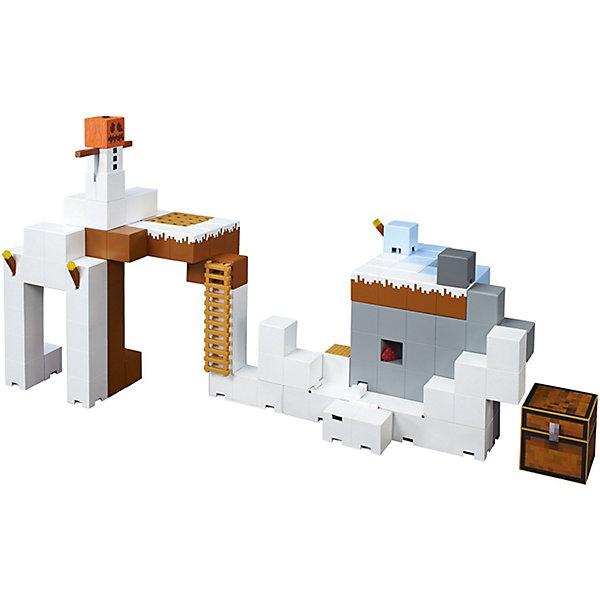 Майнкрафт: большой игровой наборИгровые наборы с фигурками<br>Характеристики товара:<br><br>• возраст: от 6 лет;<br>• материал: пластик;<br>• размер упаковки: 38х38х9 см;<br>• вес упаковки: 1,81 кг;<br>• страна производитель: Китай.<br><br>Большой игровой набор «Майнкрафт» создан по мотивам известной видеоигры. Из всех элементов предстоит построить свой собственный мир, в котором можно устраивать увлекательные игры по мотивам популярной видеоигры. <br><br>Большой игровой набор «Майнкрафт» можно приобрести в нашем интернет-магазине.<br>Ширина мм: 9999; Глубина мм: 9999; Высота мм: 9999; Вес г: 9999; Возраст от месяцев: 72; Возраст до месяцев: 2147483647; Пол: Мужской; Возраст: Детский; SKU: 5378204;