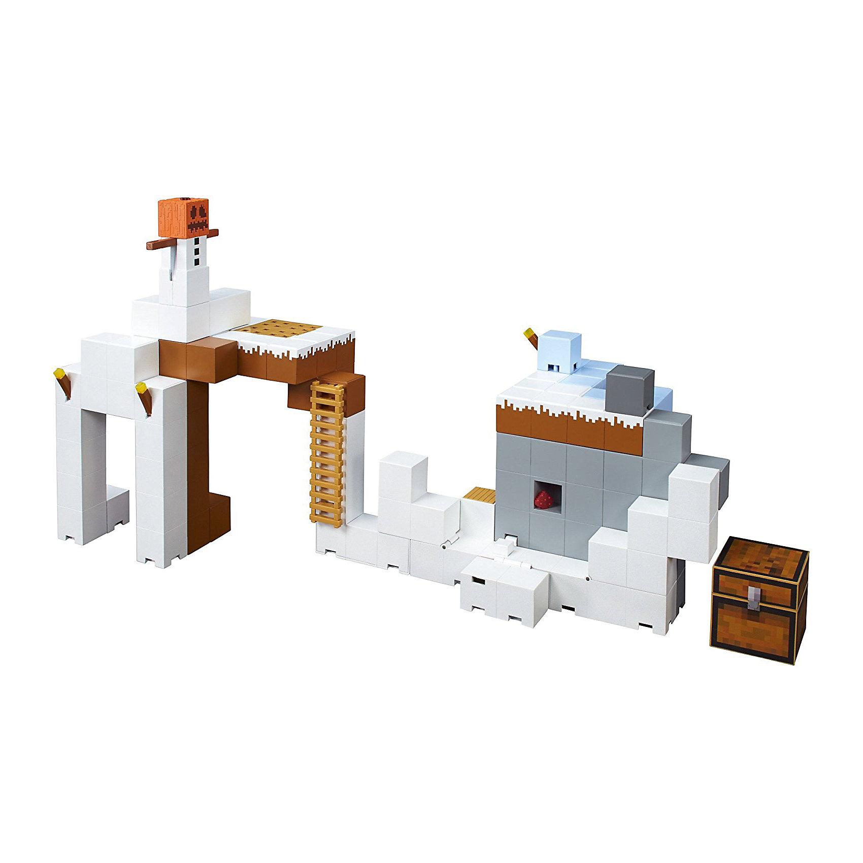 Майнкрафт: большой игровой наборЛюбимые герои<br>Характеристики товара:<br><br>• возраст: от 6 лет;<br>• материал: пластик;<br>• размер упаковки: 38х38х9 см;<br>• вес упаковки: 1,81 кг;<br>• страна производитель: Китай.<br><br>Большой игровой набор «Майнкрафт» создан по мотивам известной видеоигры. Из всех элементов предстоит построить свой собственный мир, в котором можно устраивать увлекательные игры по мотивам популярной видеоигры. <br><br>Большой игровой набор «Майнкрафт» можно приобрести в нашем интернет-магазине.<br><br>Ширина мм: 9999<br>Глубина мм: 9999<br>Высота мм: 9999<br>Вес г: 9999<br>Возраст от месяцев: 72<br>Возраст до месяцев: 2147483647<br>Пол: Мужской<br>Возраст: Детский<br>SKU: 5378204