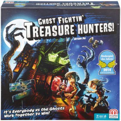 Настольная игра Охотники за сокровищами , Mattel Games