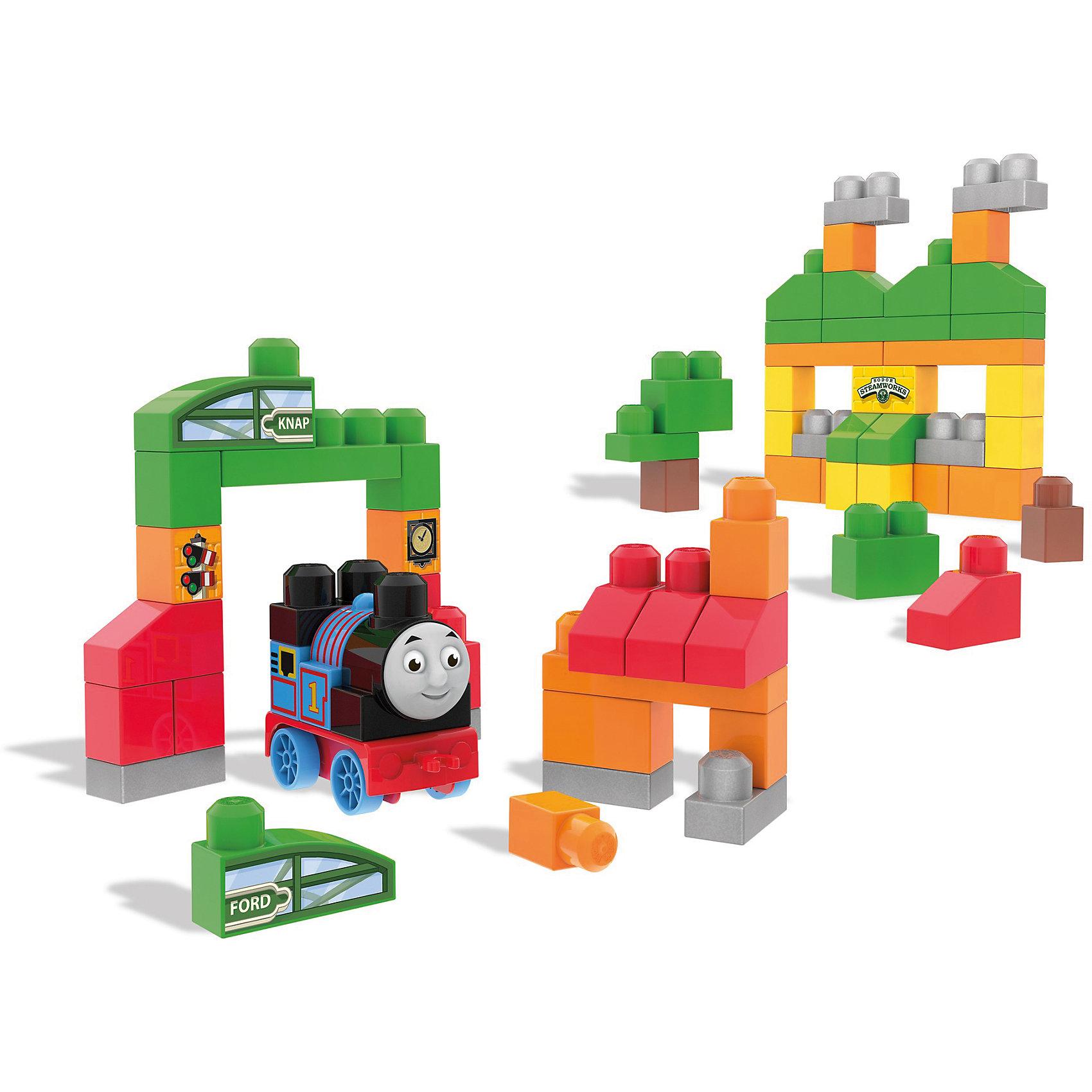 Томас и друзья: приключения на острове Содор, MEGA BLOKSПластмассовые конструкторы<br>Томас и друзья: приключения на острове Содор, MEGA BLOKS (МЕГА БЛОКС).<br><br>Характеристики:<br><br>• Количество деталей: 70<br>• Материал: пластик<br>• Упаковка: пластиковая сумка<br>• Размер упаковки: 38х30х15 см.<br><br>Это путешествие по острову Содор с любимым всеми синим паровозиком Томасом! Садимся в поезд! Теперь даже самые юные поклонники Томаса могут посетить знаменитые достопримечательности острова Содор с помощью больших блоков конструктора! Соберите Томаса, затем стартуйте со станции Марон и следуйте в Кнэпфорд, прежде чем сделать остановку в мастерской Стимворкс! <br><br>Созданный специально для маленьких ручек малыша, этот большой набор из 70 строительных блоков позволит строить и перестраивать, воссоздавая различные варианты истории. Когда увлекательное путешествие будет закончено, можно убрать элементы конструктора в удобную сумку для хранения! Все детали конструктора изготовлены из качественного пластика и полностью безопасны для детей.<br><br>Набор Томас и друзья: приключения на острове Содор, MEGA BLOKS (МЕГА БЛОКС) можно купить в нашем интернет-магазине.<br><br>Ширина мм: 305<br>Глубина мм: 125<br>Высота мм: 355<br>Вес г: 1270<br>Возраст от месяцев: 12<br>Возраст до месяцев: 60<br>Пол: Мужской<br>Возраст: Детский<br>SKU: 5378226