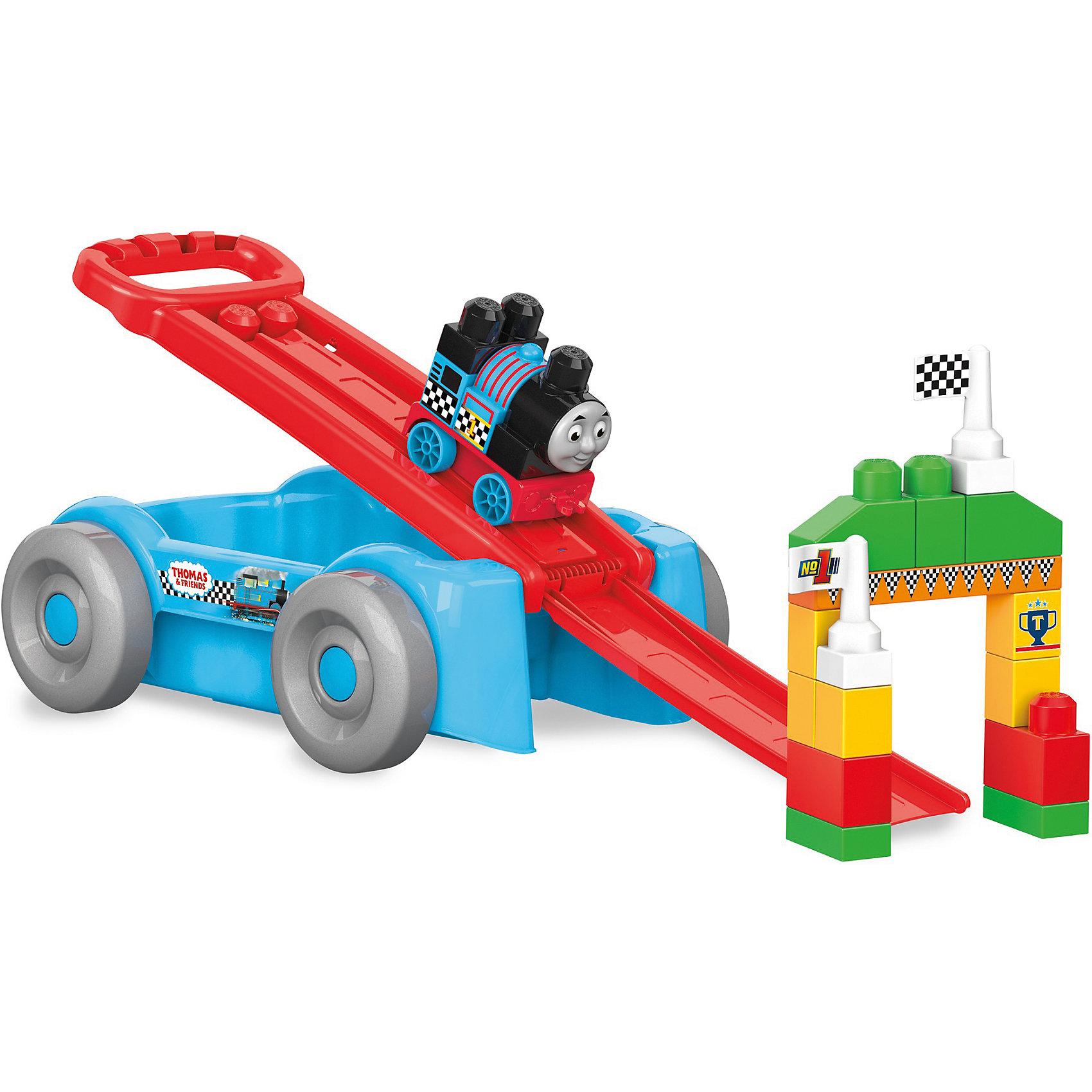 Томас и друзья: вагончик - трансформер, MEGA BLOKSПластмассовые конструкторы<br>Томас и друзья: вагончик - трансформер, MEGA BLOKS (МЕГА БЛОКС).<br><br>Характеристики:<br><br>• Количество деталей: 21<br>• Материал: пластик<br>• Размер вагончика: 46х28,5х14 см.<br>• Размер упаковки: 45х32х16 см.<br><br>Устраивайте железнодорожные гонки везде, где захотите! Конструктор Mega Bloks создан специально для маленьких ручек малыша, этот классический вагон-каталка трансформируется в скоростной вагон, когда вы построите гоночную рампу для Томаса! Постройте гоночную арку и установите клетчатый флаг. Затем приготовьтесь к быстрым гонкам, прикрепив рампу к ручке вагона и установив Томаса на линии старта. <br><br>Поднимите ручку и отправьте Томаса сквозь арку к линии финиша. Используйте блоки для строительства прямо на вагоне! После игры блоки можно убрать в вагон для хранения! Все детали конструктора изготовлены из качественного пластика и полностью безопасны для детей.<br><br>Набор Томас и друзья: вагончик - трансформер, MEGA BLOKS (МЕГА БЛОКС) можно купить в нашем интернет-магазине.<br><br>Ширина мм: 470<br>Глубина мм: 135<br>Высота мм: 290<br>Вес г: 1256<br>Возраст от месяцев: 12<br>Возраст до месяцев: 60<br>Пол: Мужской<br>Возраст: Детский<br>SKU: 5378227