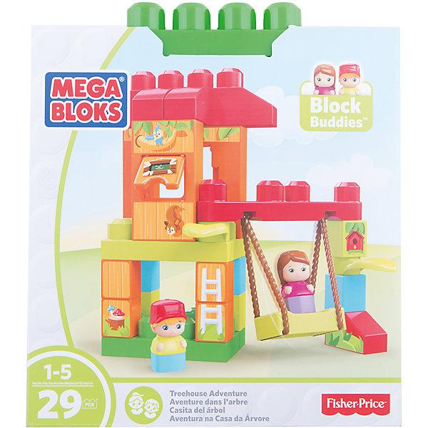 Игровой набор - конструктор Веселые качели, MEGA BLOKSПластмассовые конструкторы<br>Игровой набор - конструктор Веселые качели, MEGA BLOKS (МЕГА БЛОКС).<br><br>Характеристики:<br><br>• Комплектация: детали конструктора, 2 фигурки<br>• Количество деталей: 29<br>• Материал: пластик<br>• Упаковка: картонная коробка<br>• Размер упаковки:29х25,5х12,8 см.<br><br>Конструктор Веселые качели, MEGA BLOKS (МЕГА БЛОКС) предназначен для самых маленьких. Большие и яркие элементы конструктора отлично соединяются между собой. Их удобно брать и держать маленькими детскими ручками. Из деталей данного игрового набора можно собрать домик на дереве с качелями и открывающимся окошком. <br><br>В набор также входит фигурки мальчика и девочки. Ваш малыш с удовольствием будет перестраивать домик на дереве по своему желанию, катать на качелях мини-фигурки и разыгрывать веселые сценки из жизни обитателей домика. Все детали конструктора изготовлены из качественного пластика и полностью безопасны для детей.<br><br>Игровой набор - конструктор Веселые качели, MEGA BLOKS (МЕГА БЛОКС) можно купить в нашем интернет-магазине.<br>Ширина мм: 255; Глубина мм: 125; Высота мм: 290; Вес г: 680; Возраст от месяцев: 12; Возраст до месяцев: 60; Пол: Унисекс; Возраст: Детский; SKU: 5378229;
