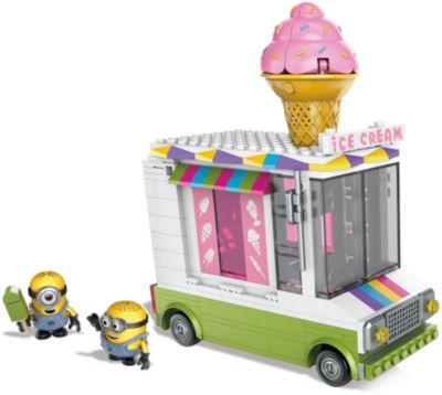 MEGA BLOKS Конструктор Mega Bloks Миньоны - Фургончик с мороженым, 286 деталей