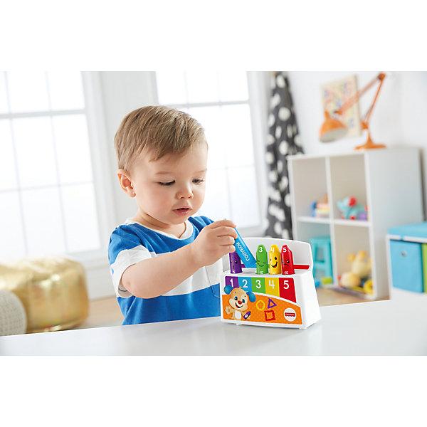 Обучающие карандаши Смейся и учись, Fisher PriceИнтерактивные игрушки для малышей<br>Характеристики товара:<br><br>• комплектация: подставка-база, 5 карандашей<br>• материал: пластик<br>• звуковые эффекты<br>• тип батареек: 2 x AA / LR6 1.5V (пальчиковые).<br>• наличие батареек: входят в комплект.<br>• серия: Смейся и учись<br>• возраст: от 18 месяцев<br>• для мальчиков и девочек<br>• габариты игрушки: 21x15х6 см<br>• страна бренда: США<br><br>Веселые карандаши поют песенки и способствуют раннему развитию малыша. Герои знакомят с названиями цветов, обучают счету и знакомят с человеческими чувствами во время веселой и смешной игры. Стоит отметить, что все товары, выпускаемые компанией Mattel, полностью безопасны и соответствуют международным  требованиям по качеству материалов. <br><br>Игрушку Обучающие карандаши Смейся и учись, Fisher Price можно приобрести в нашем интернет-магазине.<br><br>Ширина мм: 150<br>Глубина мм: 60<br>Высота мм: 205<br>Вес г: 382<br>Возраст от месяцев: 18<br>Возраст до месяцев: 36<br>Пол: Унисекс<br>Возраст: Детский<br>SKU: 5378265