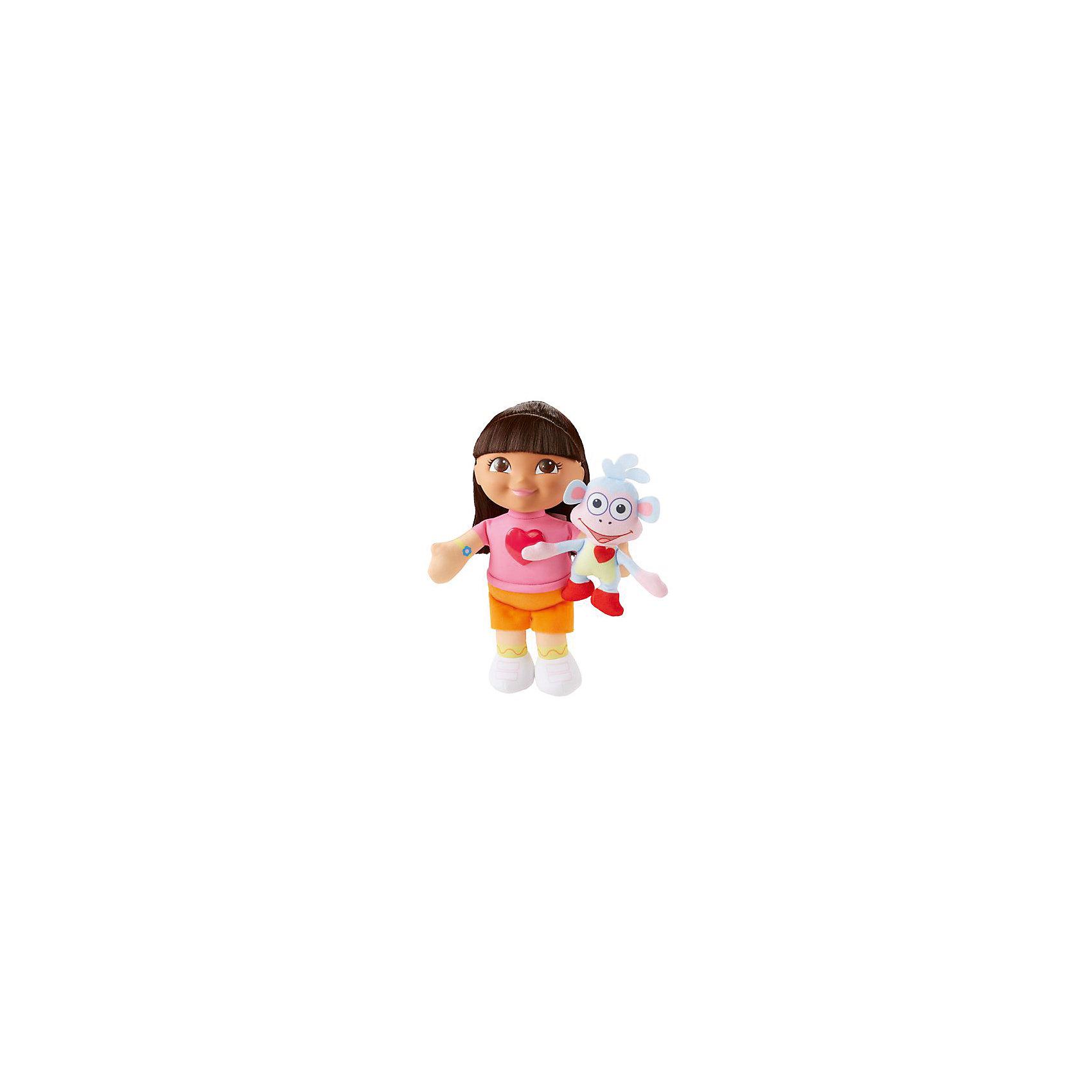 Поющая кукла Даша и Башмачок, Fisher Price, Даша-путешественницаХарактеристики товара:<br><br>• комплектация: игрушка, упаковка <br>• материал: пластик, текстиль<br>• серия: Даша-путешественница<br>• возраст: от трех лет<br>• для девочек<br>• габариты игрушки: 23x12х7 см<br>• вес: 0,218 кг<br>• страна бренда: США<br>• страна изготовитель: Китай<br><br>Даша – путешественница – кукла, созданная по мотивам одноименного фильма. Кукла одета в яркие красивые наряды и обладает роскошными волосами, которые можно расчесывать и делать прически. Издает звуковые эффекты. Стоит отметить, что все товары, выпускаемые компанией Mattel, полностью безопасны и соответствуют международным  требованиям по качеству материалов. <br><br>Игрушку Поющая кукла Даша и Башмачок, Fisher Price, Даша-путешественница» можно приобрести в нашем интернет-магазине.<br><br>Ширина мм: 9999<br>Глубина мм: 9999<br>Высота мм: 9999<br>Вес г: 9999<br>Возраст от месяцев: 36<br>Возраст до месяцев: 120<br>Пол: Женский<br>Возраст: Детский<br>SKU: 5378292