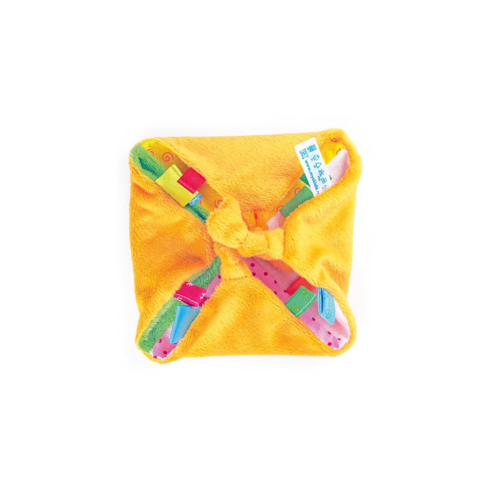 Игрушка-платочек с прорезывателем, Мякиши от myToys