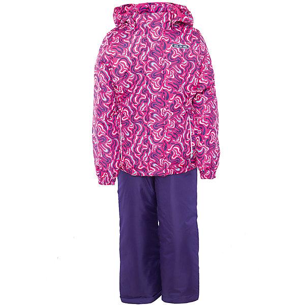 Комплект: куртка и полукомбинезон для девочки Ma-Zi-MaВерхняя одежда<br>Характеристики товара:<br><br>• цвет: розовый/фиолетовый<br>• состав: полиэстер 3000мм/3000г/м2/24h<br>• подкладка: Taffeta <br>• утеплитель - полиэстер (120г/м2)<br>• светоотражающие элементы<br>• температурный режим: от -5°С до +10°С<br>• застежка - молния<br>• капюшон съемный<br>• принт<br>• ветронепроницаемый, водо- и грязеотталкивающий и дышащий материал<br>• эластичные манжеты<br>• регулируемые подтяжки<br>• комфортная посадка<br>• страна бренда: Российская Федерация<br><br>Демисезонный комплект из куртки и брюк - универсальный вариант и для прохладной осени, и для первых заморозков. Эта модель - модная и удобная одновременно! Куртка отличается стильным ярким дизайном. Комплект хорошо сидит по фигуре, отлично сочетается с различной обувью. Вещь была разработана специально для детей.<br><br>Одежда от российского бренда Ma-Zi-Ma создается при участии канадских специалистов. Она уже завоевала популярностью у многих детей и их родителей. Вещи, выпускаемые компанией, качественные, продуманные и очень удобные. Для производства коллекций используются только безопасные для детей материалы.<br><br>Комплект: куртка и полукомбинезон для девочки от бренда Ma-Zi-Ma можно купить в нашем интернет-магазине.<br>Ширина мм: 356; Глубина мм: 10; Высота мм: 245; Вес г: 519; Цвет: розовый; Возраст от месяцев: 18; Возраст до месяцев: 24; Пол: Женский; Возраст: Детский; Размер: 92,152,146,140,134,128,122,116,110,104,98; SKU: 5383951;