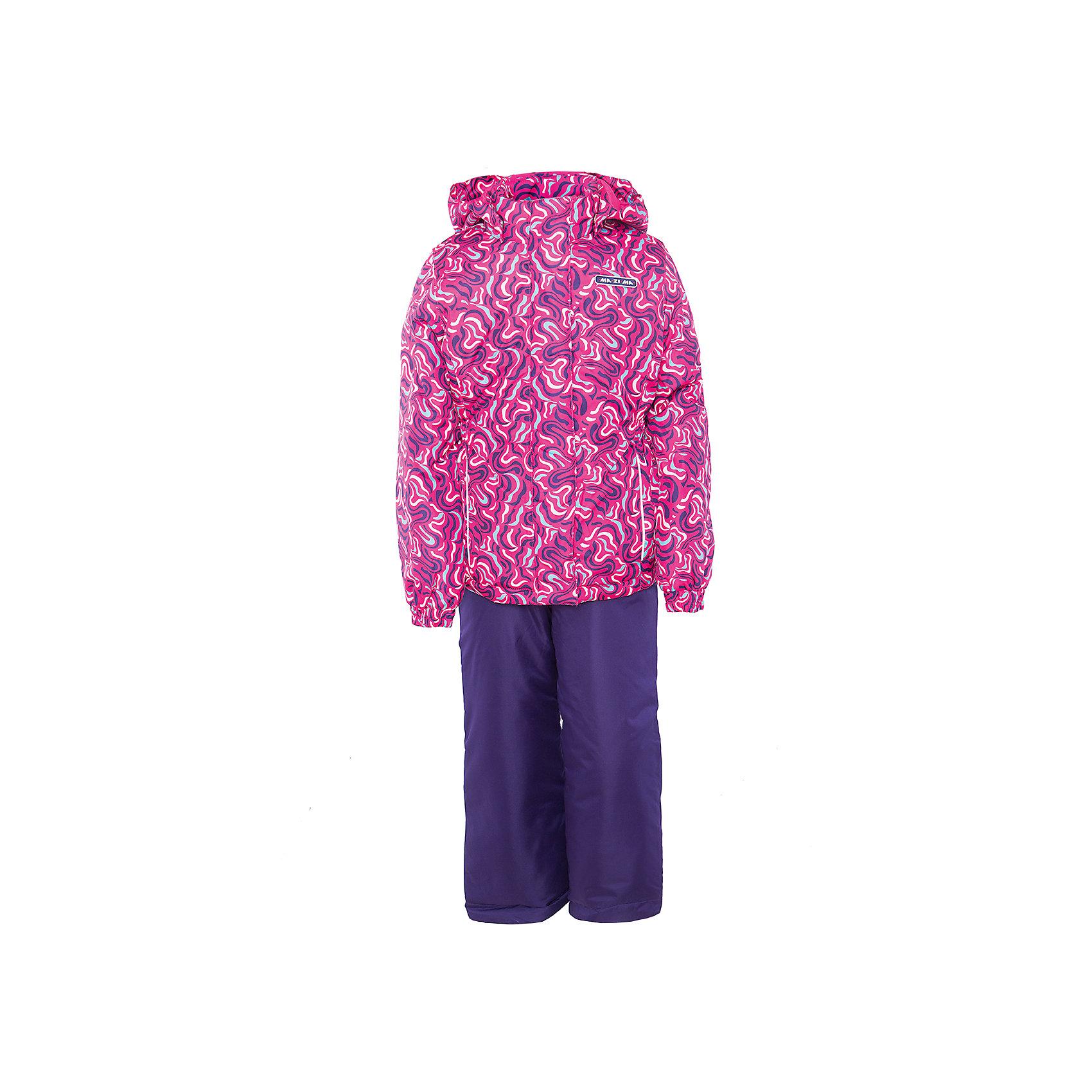 Комплект: куртка и полукомбинезон для девочки Ma-Zi-MaВерхняя одежда<br>Характеристики товара:<br><br>• цвет: розовый/фиолетовый<br>• состав: полиэстер 3000мм/3000г/м2/24h<br>• подкладка: Taffeta <br>• утеплитель - полиэстер (120г/м2)<br>• светоотражающие элементы<br>• температурный режим: от -5°С до +10°С<br>• застежка - молния<br>• капюшон съемный<br>• принт<br>• ветронепроницаемый, водо- и грязеотталкивающий и дышащий материал<br>• эластичные манжеты<br>• регулируемые подтяжки<br>• комфортная посадка<br>• страна бренда: Российская Федерация<br><br>Демисезонный комплект из куртки и брюк - универсальный вариант и для прохладной осени, и для первых заморозков. Эта модель - модная и удобная одновременно! Куртка отличается стильным ярким дизайном. Комплект хорошо сидит по фигуре, отлично сочетается с различной обувью. Вещь была разработана специально для детей.<br><br>Одежда от российского бренда Ma-Zi-Ma создается при участии канадских специалистов. Она уже завоевала популярностью у многих детей и их родителей. Вещи, выпускаемые компанией, качественные, продуманные и очень удобные. Для производства коллекций используются только безопасные для детей материалы.<br><br>Комплект: куртка и полукомбинезон для девочки от бренда Ma-Zi-Ma можно купить в нашем интернет-магазине.<br><br>Ширина мм: 356<br>Глубина мм: 10<br>Высота мм: 245<br>Вес г: 519<br>Цвет: розовый<br>Возраст от месяцев: 36<br>Возраст до месяцев: 48<br>Пол: Женский<br>Возраст: Детский<br>Размер: 104,110,116,122,128,134,140,146,152,92,98<br>SKU: 5383951