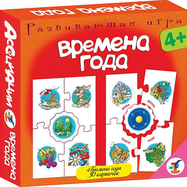Карточная игра Ассоциации. Времена года, Дрофа-МедиаОбучающие игры для дошкольников<br>Характеристики карточной игры Ассоциации. Времена года:<br><br>- возраст: от 4 лет<br>- пол: для мальчиков и девочек<br>- комплект: 30 карточек.<br>- материал: -картон, бумага.<br>- размер упаковки: 17 * 3 * 17 см.<br>- упаковка: картонная коробка.<br>- бренд: Дрофа-Медиа<br>- страна обладатель бренда: Россия.<br><br>Настольная игра Ассоциации - Времена года от бренда Дрофа-Медиа представляет собой развивающую игру, которая формирует у детей ассоциативное мышление, развивает у детей память, внимание и логику. Настольная игра рассчитана для детей от 4 лет. Ребенку нужно будет подбирать карточки и совмещать их по конкретному признаку. Карточки соединяются как пазл. Игра познакомит ребенка с временами года, их изменениями, научит сравнивать окружающие предметы и так далее.<br><br>Карточную игру Ассоциации. Времена года издательства Дрофа-Медиа можно купить в нашем интернет-магазине.<br>Ширина мм: 165; Глубина мм: 30; Высота мм: 165; Вес г: 150; Возраст от месяцев: 48; Возраст до месяцев: 2147483647; Пол: Унисекс; Возраст: Детский; SKU: 5386269;