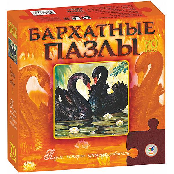 Бархатный пазл Черные лебеди, Дрофа-МедиаПазлы для малышей<br>Характеристики Бархатный пазл Черные лебеди:<br><br>- возраст: от 5 лет<br>- пол: для мальчиков и девочек<br>- цвет: оранжевый, черный.<br>- количество деталей: 70 шт.<br>- материал: бумага, картон, флок.<br>- размер упаковки: 22 * 5 * 22 см.<br>- размер игрушки: 43 * 28 см.<br>- бренд: Дрофа-Медиа<br>- страна обладатель бренда: Россия.<br><br>Бархатные пазлы Черные лебеди очень приятно собирать. Бархатная текстура пазлов манит своей необычностью, и вызывают желание прикоснуться к ним. Ребенок с интересом соберет красивых лебедей, а потом вставит картинку в рамочку и подарит дорогому для него человеку. Пазлы создают объём, поэтому картинка смотрится оригинально.<br><br>Бархатный пазл Черные лебеди издательства Дрофа-Медиа можно купить в нашем интернет-магазине.<br>Ширина мм: 220; Глубина мм: 50; Высота мм: 220; Вес г: 270; Возраст от месяцев: 60; Возраст до месяцев: 2147483647; Пол: Унисекс; Возраст: Детский; Количество деталей: 70; SKU: 5386276;