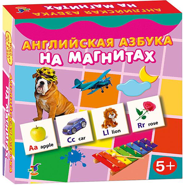 Английская азбука на магнитах, Дрофа-МедиаИностранный язык<br>Характеристики английской азбуки на магнитах:<br><br>- возраст: от 5 лет<br>- пол: для мальчиков и девочек<br>- комплект: 96 карточек, словарь.<br>- материал: картон, магнит.<br>- размер упаковки: 18 * 18 * 4 см.<br>- упаковка: картонная коробка.<br>- бренд: Дрофа-Медиа<br>- страна обладатель бренда: Россия.<br><br>Яркий набор Английская азбука на магнитах говорит сама за себя. Этот набор в виде карточек, заинтересует ребенка, поможет ему понять основы английского языка. В наборе есть карточки с определенным изображением различных предметов и животных, а также букв. С таким набором, ребенок познакомится со всеми буквами, научится читать, улучшит внимательность и сосредоточенность, а самое главное, что он сможет получить знания об иностранном языке.<br><br>Английскую азбуку на магнитах издательства Дрофа-Медиа можно купить в нашем интернет-магазине.<br>Ширина мм: 180; Глубина мм: 40; Высота мм: 180; Вес г: 170; Возраст от месяцев: 60; Возраст до месяцев: 2147483647; Пол: Унисекс; Возраст: Детский; SKU: 5386279;
