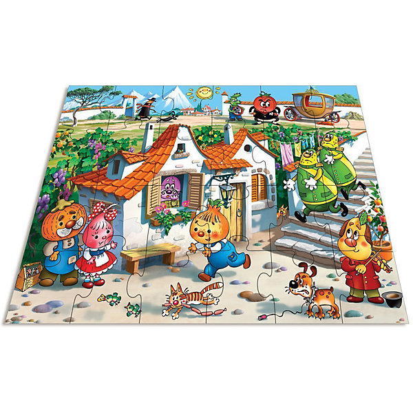 Мозаика для малышей Веселые приключения, Дрофа-МедиаМозаика<br>Характеристики мозаики для малышей Веселые приключения:<br><br>- возраст: от 3 лет<br>- пол: для мальчиков и девочек<br>- количество деталей: 24 шт.<br>- материал: бумага, картон.<br>- размер упаковки: 26 * 27.5 * 5 см.<br>- упаковка: картонная коробка.<br>- размер собранной мозаики: 70 * 50 см.<br>- бренд: Дрофа-Медиа<br>- страна обладатель бренда: Россия.<br><br>Паззл по мотивам полюбившегося детям персонажа Чиполлино из серии Веселые приключения от производителя Дрофа-Медиа - это хороший способ для ребенка увлеченно провести время.Детали мозаики крупные, что позволяет удобно держать их в руках даже самым маленьким детям. Яркие и красочные фрагменты заострят внимание ребенка на конечном результате - правильном подборе всех деталей. Пазл состоит из двадцати четырех деталей.<br><br>Мозаика для малышей Веселые приключения издательства Дрофа-Медиа можно купить в нашем интернет-магазине.<br>Ширина мм: 265; Глубина мм: 50; Высота мм: 275; Вес г: 670; Возраст от месяцев: 36; Возраст до месяцев: 2147483647; Пол: Унисекс; Возраст: Детский; SKU: 5386287;