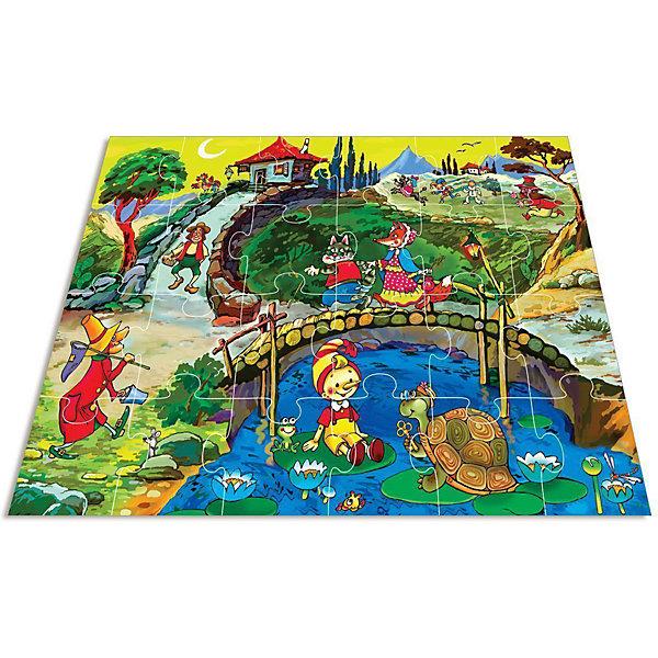 Мозаика для малышей Ключ от сказки, Дрофа-МедиаМозаика<br>Характеристики мозаики для малышей Ключ от сказки:<br><br>- возраст: от 3 лет<br>- пол: для мальчиков и девочек<br>- количество деталей: 24 шт.<br>- материал: бумага, картон.<br>- размер упаковки: 26.5*26.5*4.5 см.<br>- размер игрушки: 70*50 см.<br>- вес: 595 г.<br>- упаковка: коробка.<br>- бренд: Дрофа-Медиа<br>- страна обладатель бренда: Россия.<br><br>Любимая детская сказка об озорном мальчишке Буратино учит отзывчивости и верности. Красочная картина по мотивам сюжета привлечет внимание ребенка и расскажет о дружбе главных героев — мальчика и черепахи. Мозаику удобно собирать, сидя на полу — большие детали удобно держать детской ручке, они яркие и не потеряются. Игра развивает зрительное восприятие и логическое мышление, она непременно пригодится для тренировки воображения юных фантазеров.<br><br>Мозаику для малышей Ключ от сказки издательства Дрофа-Медиа можно купить в нашем интернет-магазине.<br>Ширина мм: 265; Глубина мм: 50; Высота мм: 275; Вес г: 670; Возраст от месяцев: 36; Возраст до месяцев: 2147483647; Пол: Унисекс; Возраст: Детский; SKU: 5386288;