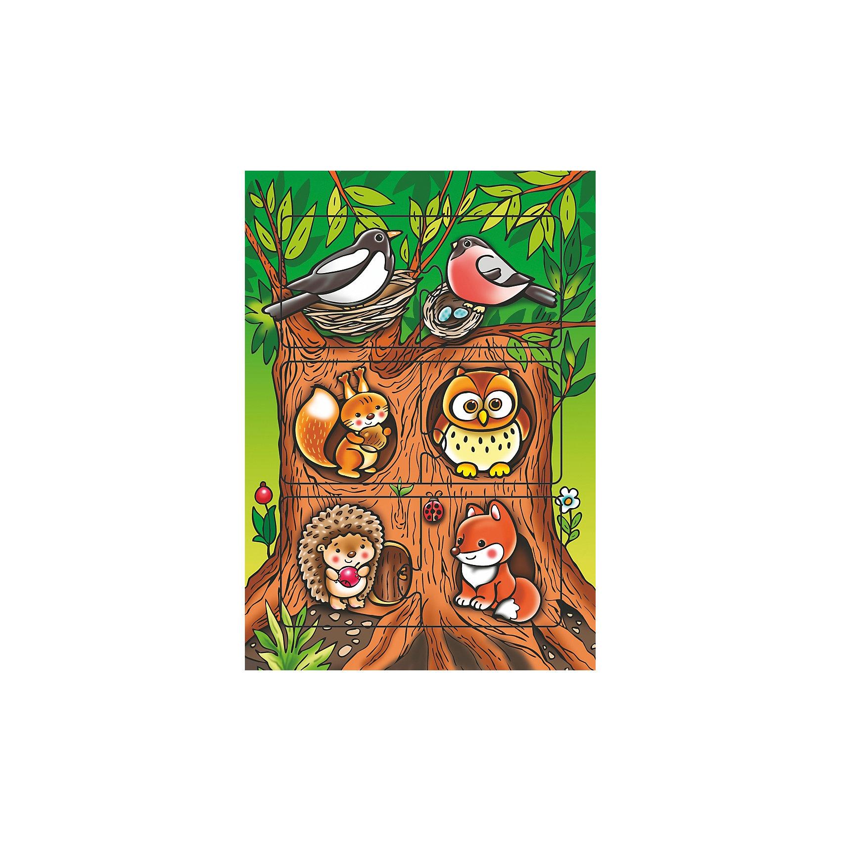 Развивающая игра Кто где живет, Дрофа-МедиаРазвивающие игры<br>Характеристики развивающей игры Кто, где живет:<br><br>- возраст: от 2 лет<br>- пол: для мальчиков и девочек<br>- комплект: рамка, 6 элементов.<br>- материал: картон.<br>- размер рамки: 28.5 * 20 * 0.3 см.<br>- бренд: Дрофа-Медиа<br>- страна обладатель бренда: Россия.<br><br>Развивающая рамка Кто, где живет? от производителя Дрофа-Медиа представляет собой развивающую игру, состоящую из рамочки с рисунком, в которую вкладываются пазлы. На пазлах изображены дикие животные, живущие на разных ярусах леса. Ребенку предстоит самостоятельно определить, кто, где живет, и правильно вставить пазлы на свои места. Рамочка изготовлена из плотного многослойного картона, с наклеенным поверх красочным рисунком.<br><br>Развивающую игру  Кто, где живет издательства Дрофа-Медиа можно купить в нашем интернет-магазине.<br><br>Ширина мм: 200<br>Глубина мм: 3<br>Высота мм: 285<br>Вес г: 120<br>Возраст от месяцев: 36<br>Возраст до месяцев: 2147483647<br>Пол: Унисекс<br>Возраст: Детский<br>SKU: 5386302