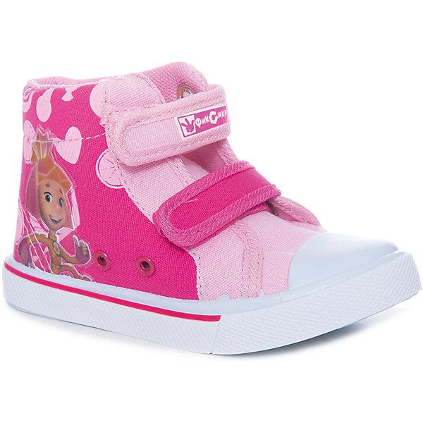 Купить Кеды для девочки Kakadu, Китай, розовый, 24, 29, 28, 27, 26, 25, Женский