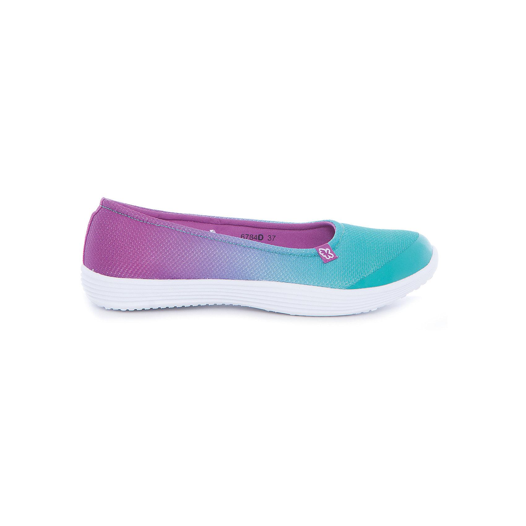 Туфли для девочки KakaduТекстильные туфли<br>Характеристики:<br><br>• цвет: зеленый/розовый<br>• внешний материал: текстиль<br>• внутренний материал: текстиль<br>• стелька: текстиль<br>• подошва: ЭВА<br>• высота подошвы: 1,5 см<br>• съёмная ультрамягкая стелька<br>• облегчённая подошва<br>• тип застежки: без застежки<br>• сезон: лето<br>• тип обуви: туфли<br>• тип подошвы: рифлёная<br>• способ крепления подошвы: литая<br>• уход: удаление загрязнений мягкой щеткой<br><br>Верх изделия – текстиля и полиэстера, что обеспечивает хорошую воздухопроницаемость, гигиеничность, высокую устойчивость к изменению цвета и формы. Подошва выполнена из этиленвинилацетата, который не утяжеляет вес обуви и при этом обеспечивает ее гибкость. Туфли имеют классическую форму и стильный дизайн.<br><br>Туфли для девочки KAKADU можно купить в нашем интернет-магазине.<br><br>Ширина мм: 227<br>Глубина мм: 145<br>Высота мм: 124<br>Вес г: 325<br>Цвет: синий<br>Возраст от месяцев: 96<br>Возраст до месяцев: 108<br>Пол: Женский<br>Возраст: Детский<br>Размер: 32,37,33,34,35,36<br>SKU: 5386860