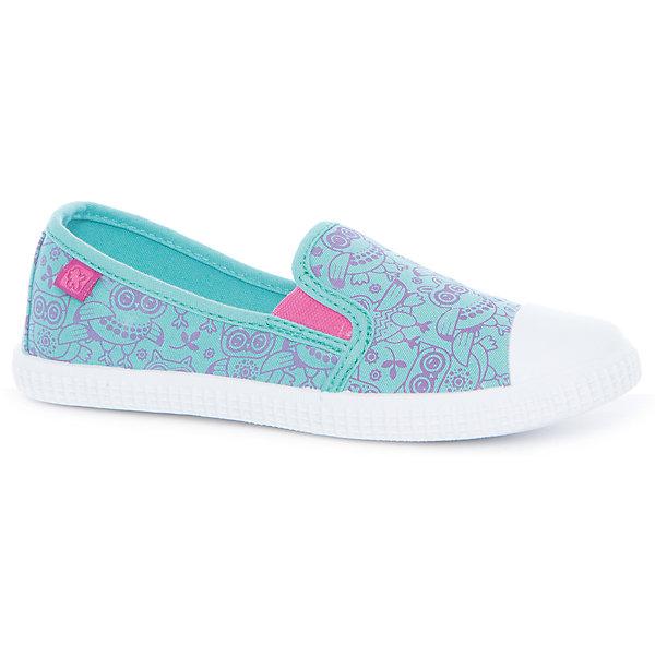 Слипоны для девочки Kakadu, бирюзовыйТекстильные туфли<br>Характеристики товара:<br><br>• цвет: бирюзовый<br>• внешний материал обуви:  текстиль<br>• внутренний материал: текстиль<br>• стелька: текстиль (съемная)<br>• подошва: ТЭП<br>• вид обуви: спортивный стиль<br>• тип обуви: анатомическая<br>• сезон: лето<br>• температурный режим: от +10°до +20°С<br>• страна бренда: Россия<br>• страна изготовитель: Китай<br><br>Слипоны для девочки бренда Какаду - это универсальная обувь, которую можно сочетать с любой одеждой. Они созданы из качественных сертифицированных материалов. <br><br>Модель выполнена из натурального хлопка, что обеспечивает воздухообмен и комфортный микроклимат во время прогулок. <br><br>Слипоны для девочки KAKADU, бирюзовый можно купить в нашем интернет-магазине.<br>Ширина мм: 227; Глубина мм: 145; Высота мм: 124; Вес г: 325; Цвет: синий; Возраст от месяцев: 108; Возраст до месяцев: 120; Пол: Женский; Возраст: Детский; Размер: 33,28,29,30,31,32; SKU: 5386913;