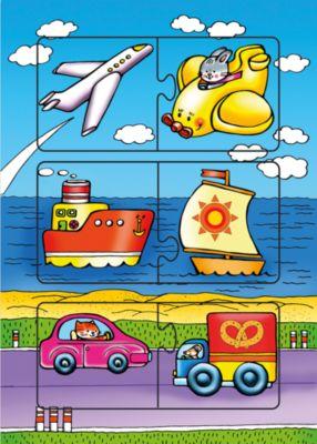 Развивающая игра Едем, плывем, летим , Дрофа-Медиа фото-1