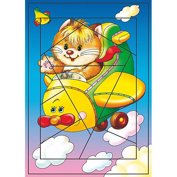 Развивающая игра Прогулка на самолете, Дрофа-МедиаПазлы для малышей<br><br>Ширина мм: 200; Глубина мм: 3; Высота мм: 285; Вес г: 120; Возраст от месяцев: 36; Возраст до месяцев: 2147483647; Пол: Унисекс; Возраст: Детский; SKU: 5387922;