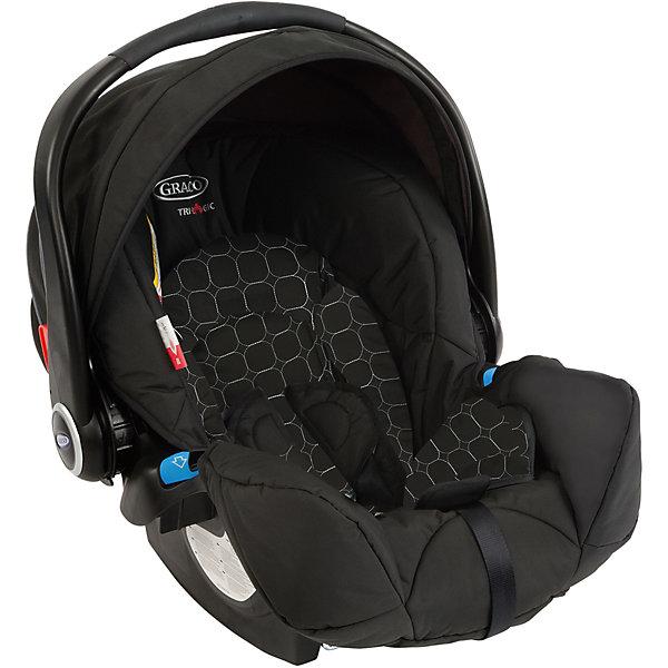 Автокресло Graco Logico S Noir 0-13 кг,Группа 0+  (до 13 кг)<br>Характеристики:<br><br>• группа: 0+<br>• вес ребенка: до 13 кг;<br>• возраст ребенка: от рождения до 12 месяцев;<br>• способ крепления: штатным ремнем безопасности автомобиля;<br>• способ установки: лицом против хода движения автомобиля;<br>• материал: пластик, полиэстер;<br>• размеры автокресла: 58x67x56 см;<br>• вес: 4,2 кг.<br><br>Автокресло Logico S Noir представляет собой автолюльку для путешествий с новорожденными детками в автомобиле. Автокресло оснащено ремнями безопасности с мягкими накладками. Имеется пластиковая ручка для переноски автокресла, положение регулируется. Защитный капор регулируется, его можно поднимать и опускать. Дополнительная система защиты от боковых ударов с двойной EPS системой представляет собой высокие защитные бортики внутри и пластиковые борты снаружи автокресла. Входящий в комплект чехол автокресла можно стирать при температуре 30 градусов.<br><br>Автокресло Logico S Noir 0-13 кг, Graco можно купить в нашем интернет-магазине.<br>Ширина мм: 490; Глубина мм: 490; Высота мм: 700; Вес г: 10500; Возраст от месяцев: 0; Возраст до месяцев: 12; Пол: Унисекс; Возраст: Детский; SKU: 5388607;