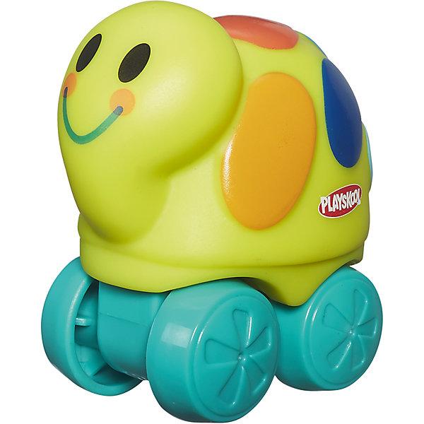 Веселые мини-животные Возьми с собой: желтая черепаха, PLAYSKOOLКаталки и качалки<br>Веселые мини-животные Возьми с собой, PLAYSKOOL, 4844/A7391<br><br>Характеристики:<br><br>• Цвет: желтый, зеленый<br>• Игрушка: черепашка<br>• Каталка на колесиках<br>• Материал: пластик<br><br>Миниатюрная каталка в виде животного подарит малышу море радости и позитива. Сделана игрушка из качественного материала, который не вредит ребенку. Игрушку легко мыть, она не тускнеет и не портится от длительного использования. Такая игрушка сможет развить мелкую моторику рук, благодаря плотному, но не жесткому материалу.<br><br>Веселые мини-животные Возьми с собой, PLAYSKOOL, B4844/A7391 можно купить в нашем интернет-магазине.<br>Ширина мм: 76; Глубина мм: 54; Высота мм: 72; Вес г: 54; Возраст от месяцев: 12; Возраст до месяцев: 36; Пол: Унисекс; Возраст: Детский; SKU: 5389097;