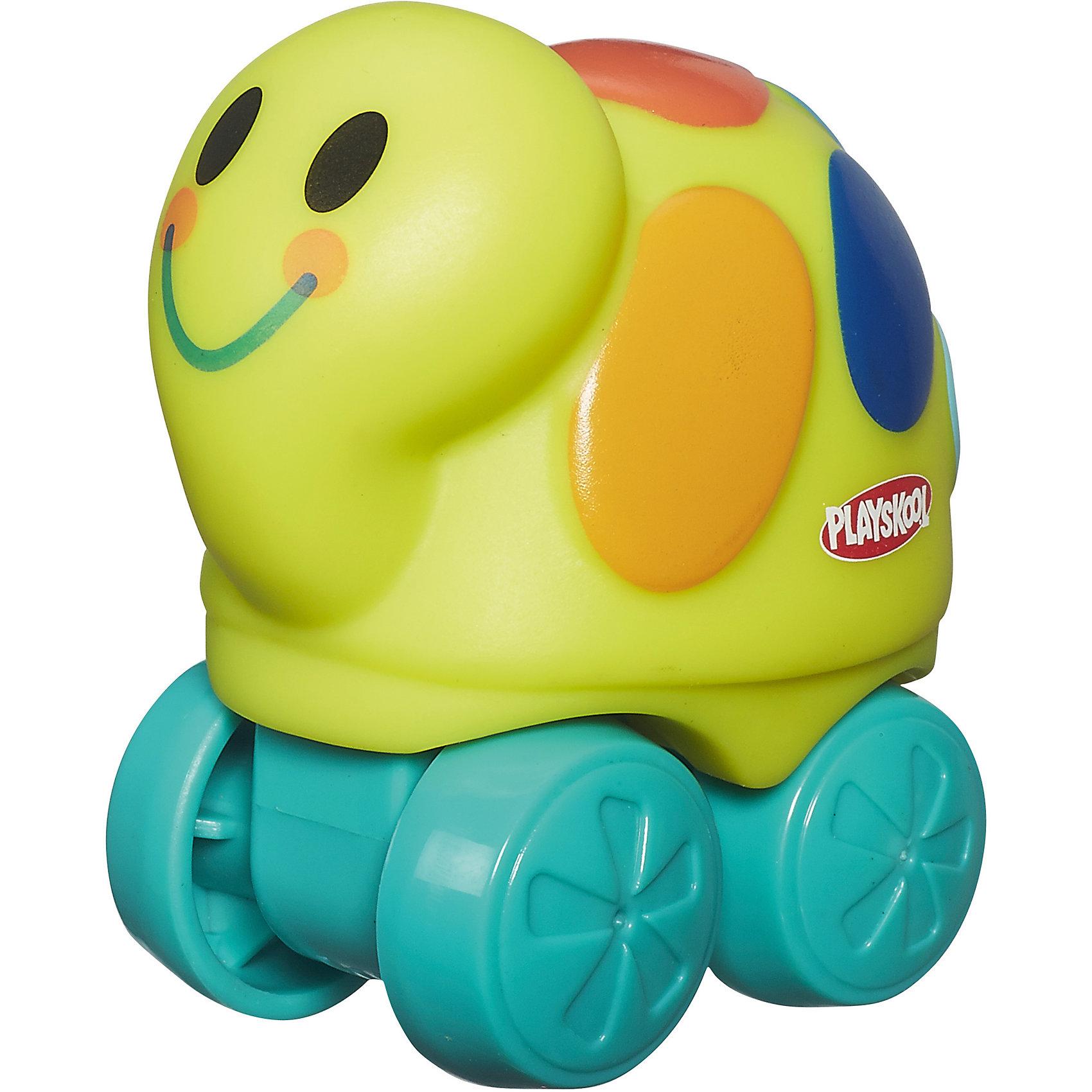 Веселые мини-животные Возьми с собой: желтая черепаха, PLAYSKOOLМашинки и транспорт для малышей<br>Веселые мини-животные Возьми с собой, PLAYSKOOL, 4844/A7391<br><br>Характеристики:<br><br>• Цвет: желтый, зеленый<br>• Игрушка: черепашка<br>• Каталка на колесиках<br>• Материал: пластик<br><br>Миниатюрная каталка в виде животного подарит малышу море радости и позитива. Сделана игрушка из качественного материала, который не вредит ребенку. Игрушку легко мыть, она не тускнеет и не портится от длительного использования. Такая игрушка сможет развить мелкую моторику рук, благодаря плотному, но не жесткому материалу.<br><br>Веселые мини-животные Возьми с собой, PLAYSKOOL, B4844/A7391 можно купить в нашем интернет-магазине.<br><br>Ширина мм: 76<br>Глубина мм: 54<br>Высота мм: 72<br>Вес г: 54<br>Возраст от месяцев: 12<br>Возраст до месяцев: 36<br>Пол: Унисекс<br>Возраст: Детский<br>SKU: 5389097