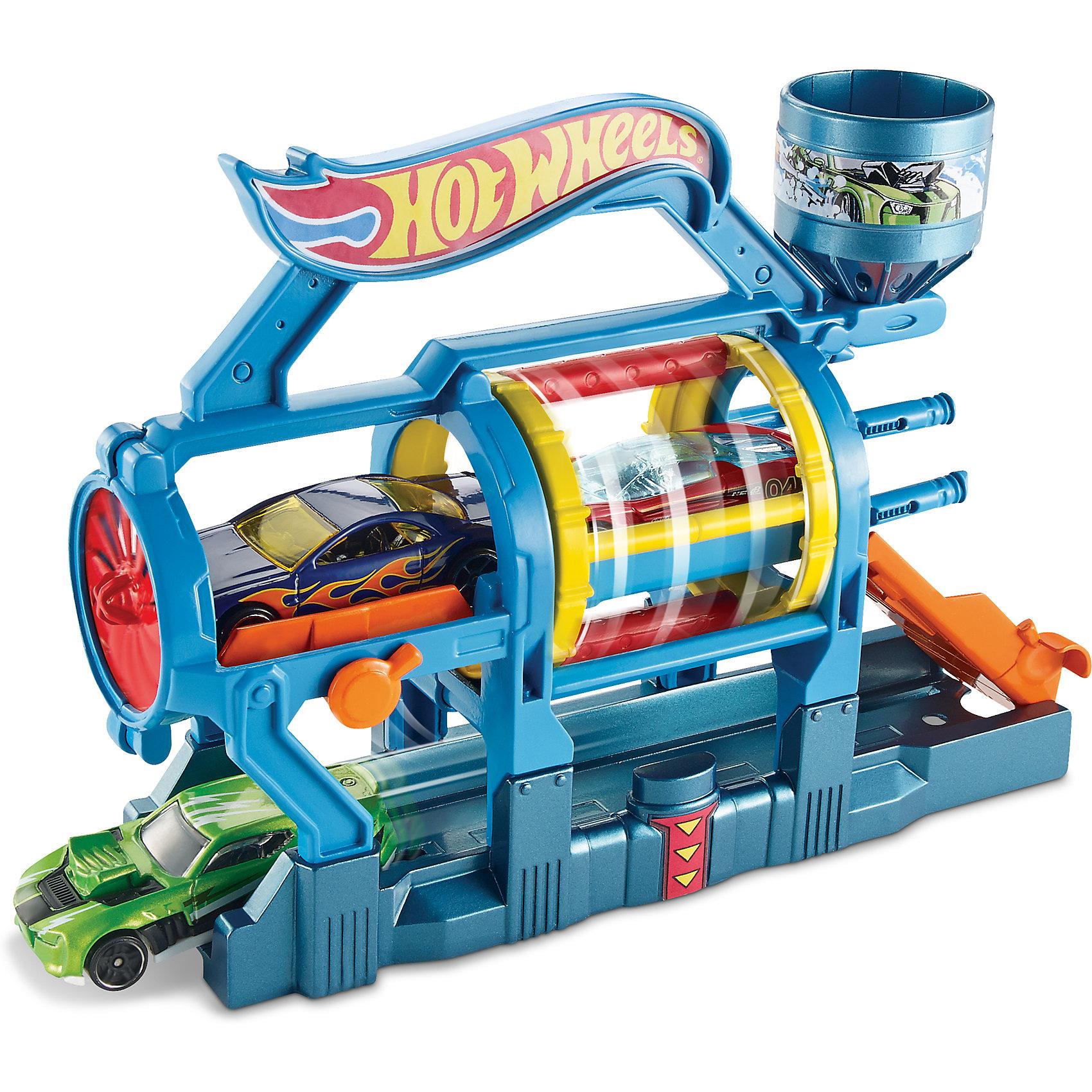 Трансформирующийся игровой набор Turbo Jet Car Wash, Hot WheelsХарактеристики товара:<br><br>• материал: пластик, металл<br>• комплектация: 1 машинка, автомойка<br>• хорошая детализация<br>• совместимы с игровыми наборами Hot Wheels<br>• возраст: от 4 лет<br>• размер упаковки: 20х18х5 см<br>• упаковка: блистер на картоне<br>• страна бренда: США<br><br>Играть с машинками обожает множество современных мальчишек. Сделать ребенку желанный подарок легко - приобретите такой набор Turbo Jet Car Wash от бренда Hot Wheels! В него входит машинка и автомойка, где можно приводить машину в порядок после гонок.<br><br>Эти игрушки от Mattel отлично проработаны. Они отличаются безопасными материалами и высокой степенью детализации. С таким набором можно придумать множество игр! Параллельно ребенок будет развивать фантазию, пространственное мышление и мелкую моторику.<br><br>Трансформирующийся игровой набор Turbo Jet Car Wash, Hot Wheels, от компании Mattel можно купить в нашем интернет-магазине.<br><br>Ширина мм: 205<br>Глубина мм: 65<br>Высота мм: 190<br>Вес г: 322<br>Возраст от месяцев: 48<br>Возраст до месяцев: 120<br>Пол: Мужской<br>Возраст: Детский<br>SKU: 5389679