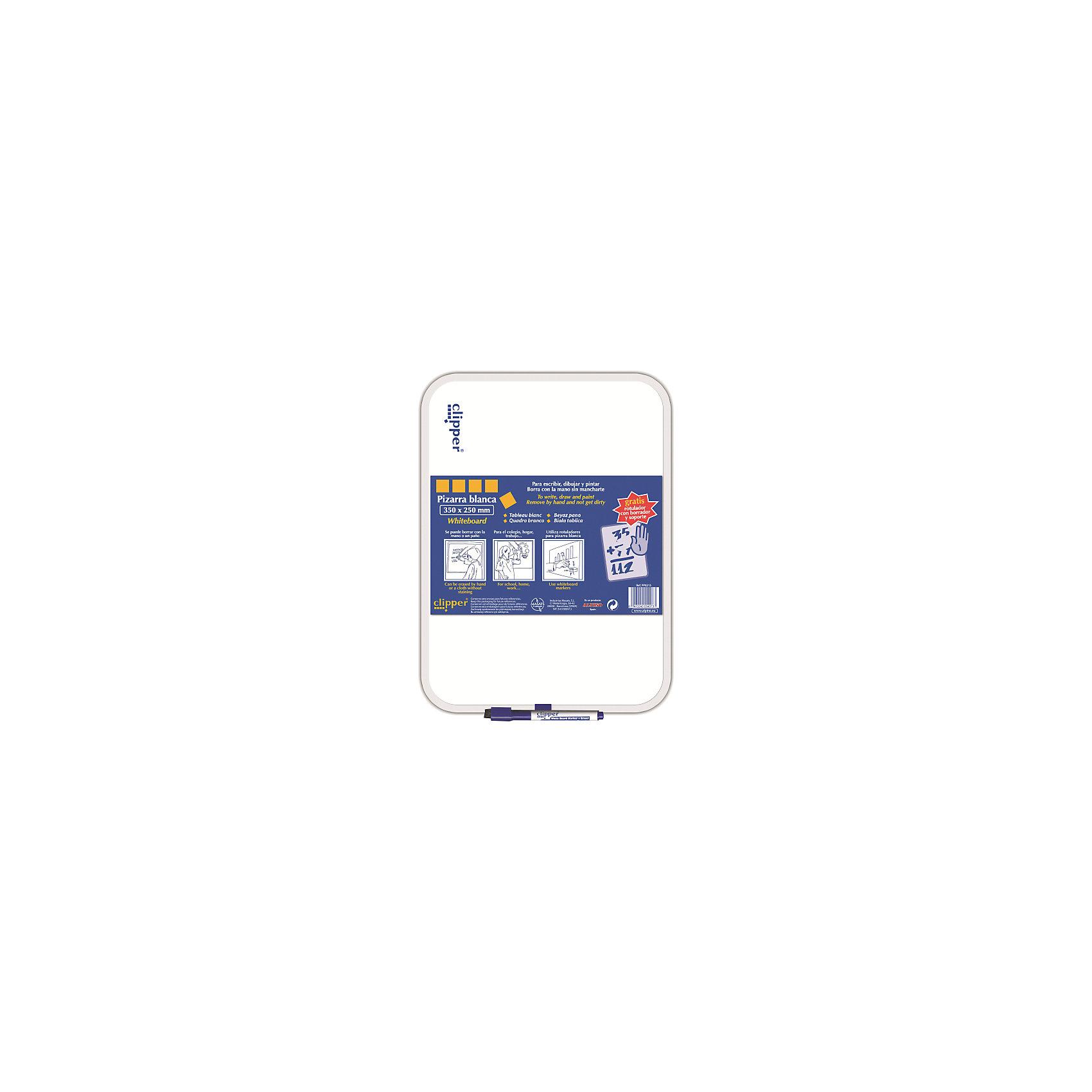 Маркерная доска, цвет белый, 35 x 25 см, 1 шт + маркерКомплект: доска ,маркер и губка в колпачке<br>Изготовлена из нетоксичных материалов, основа ПВХ<br>Предназначена для ежедневных записей<br>Упаковка с европетлей<br>Производитель: ALPINO (Испания)<br><br>Ширина мм: 250<br>Глубина мм: 10<br>Высота мм: 350<br>Вес г: 234<br>Возраст от месяцев: 36<br>Возраст до месяцев: 120<br>Пол: Унисекс<br>Возраст: Детский<br>SKU: 5389788