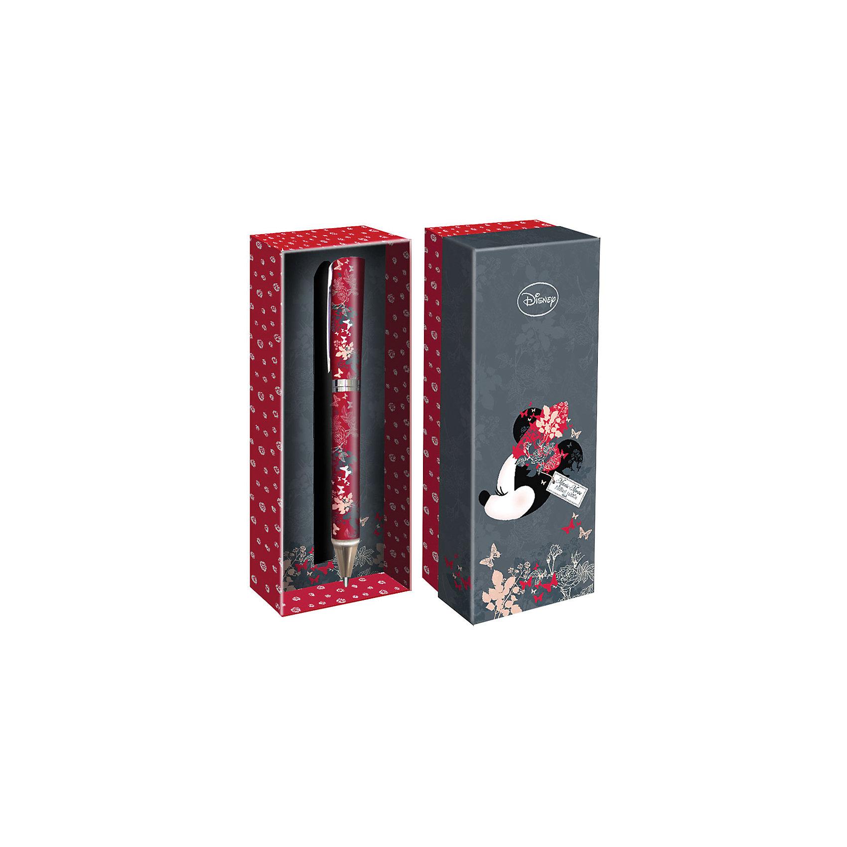 Подарочная ручка, Disney Минни МаусМинни Маус<br>Подарочная ручка, Disney Минни Маус<br><br>Характеристики:<br><br>• подарочная упаковка<br>• яркий дизайн<br>• тип ручки: шариковая<br>• цвет чернил: синие<br>• толщина линии: 0,7 мм<br>• материал: пластик, металл<br>• размер упаковки: 21х20х7 см<br>• вес: 125 грамм<br><br>Красивая ручка с ярким дизайном - отличный подарок для поклонников клуба Микки Мауса. Подарочная упаковка и ручка оформлены в стиле знаменитой мышки. Ручка имеет удобную форму и широкую толщину линии - 0,7 мм. Ручка изготовлена из прочного пластика.<br><br>Подарочную ручку, Disney Минни Маус вы можете купить в нашем интернет-магазине.<br><br>Ширина мм: 70<br>Глубина мм: 200<br>Высота мм: 210<br>Вес г: 125<br>Возраст от месяцев: 84<br>Возраст до месяцев: 360<br>Пол: Женский<br>Возраст: Детский<br>SKU: 5390287