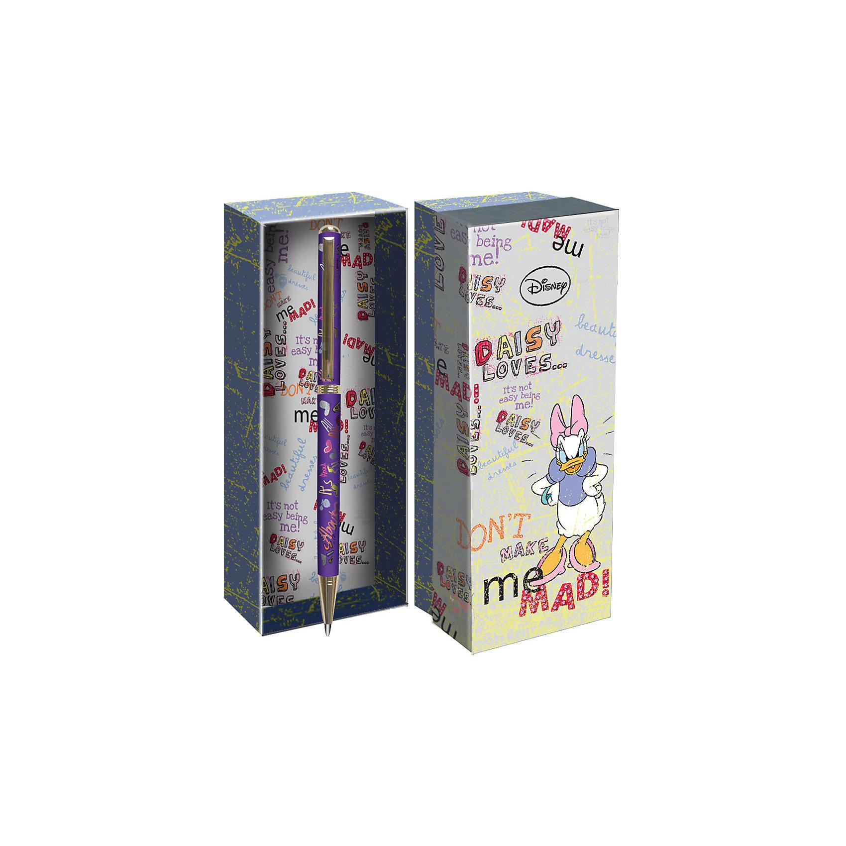 Подарочная ручка, Disney Дэйзи ДакПодарочная ручка, Disney Дэйзи Дак<br><br>Характеристики:<br><br>• подарочная упаковка<br>• яркий дизайн<br>• тип ручки: шариковая<br>• цвет чернил: синие<br>• толщина линии: 0,7 мм<br>• материал: пластик, металл<br>• размер упаковки: 21х20х7 см<br>• вес: 125 грамм<br><br>Красивая ручка с ярким дизайном - отличный подарок для поклонников клуба Микки Мауса. Подарочная упаковка и ручка оформлены в стиле знаменитой уточки. Ручка имеет удобную форму и широкую толщину линии - 0,7 мм. Ручка изготовлена из прочного пластика.<br><br>Подарочная ручка, Disney Дэйзи Дак вы можете купить в нашем интернет-магазине.<br><br>Ширина мм: 70<br>Глубина мм: 200<br>Высота мм: 210<br>Вес г: 110<br>Возраст от месяцев: 84<br>Возраст до месяцев: 360<br>Пол: Женский<br>Возраст: Детский<br>SKU: 5390288