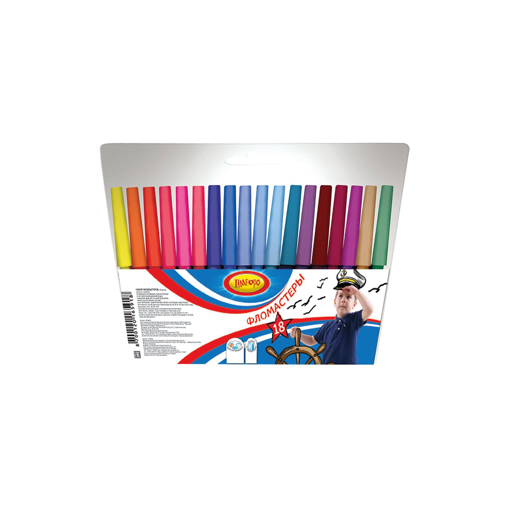 Фломастеры Супер-дети 18 цветовРисование<br>Фломастеры Супер-дети 18 цветов, Limpopo (Лимпопо)<br><br>Характеристики:<br><br>• безопасные чернила<br>• яркие цвета<br>• вентилируемый колпачок<br>• привлекательный дизайн упаковки<br>• в комплекте: 18 фломастеров<br>• размер упаковки: 16х15,4х0,9 см<br>• вес: 90 грамм<br><br>Каждый ребенок любит рисовать фломастерами, ведь они очень яркие и удобные. Набор фломастеров Супер-дети создан специально для поклонников рисования. В комплект входят 18 фломастеров ярких цветов. Чернила экологические и безопасные для ребенка. Вентилируемый колпачок препятствует быстрому высыханию. С этим набором у малыша получатся самые красивые рисунки!<br><br>Фломастеры Супер-дети 18 цветов, Limpopo (Лимпопо) вы можете купить в нашем интернет-магазине.<br><br>Ширина мм: 9<br>Глубина мм: 154<br>Высота мм: 160<br>Вес г: 90<br>Возраст от месяцев: 48<br>Возраст до месяцев: 144<br>Пол: Унисекс<br>Возраст: Детский<br>SKU: 5390293
