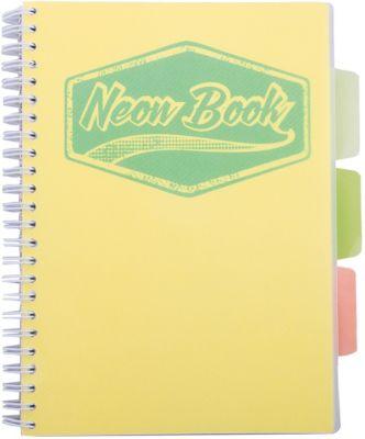 Limpopo Желтая тетрадь А5 Neon book 120 листов