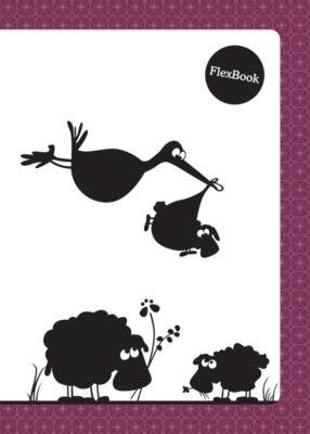 Limpopo Бордовая тетрадь А5 Flex book 80 листов
