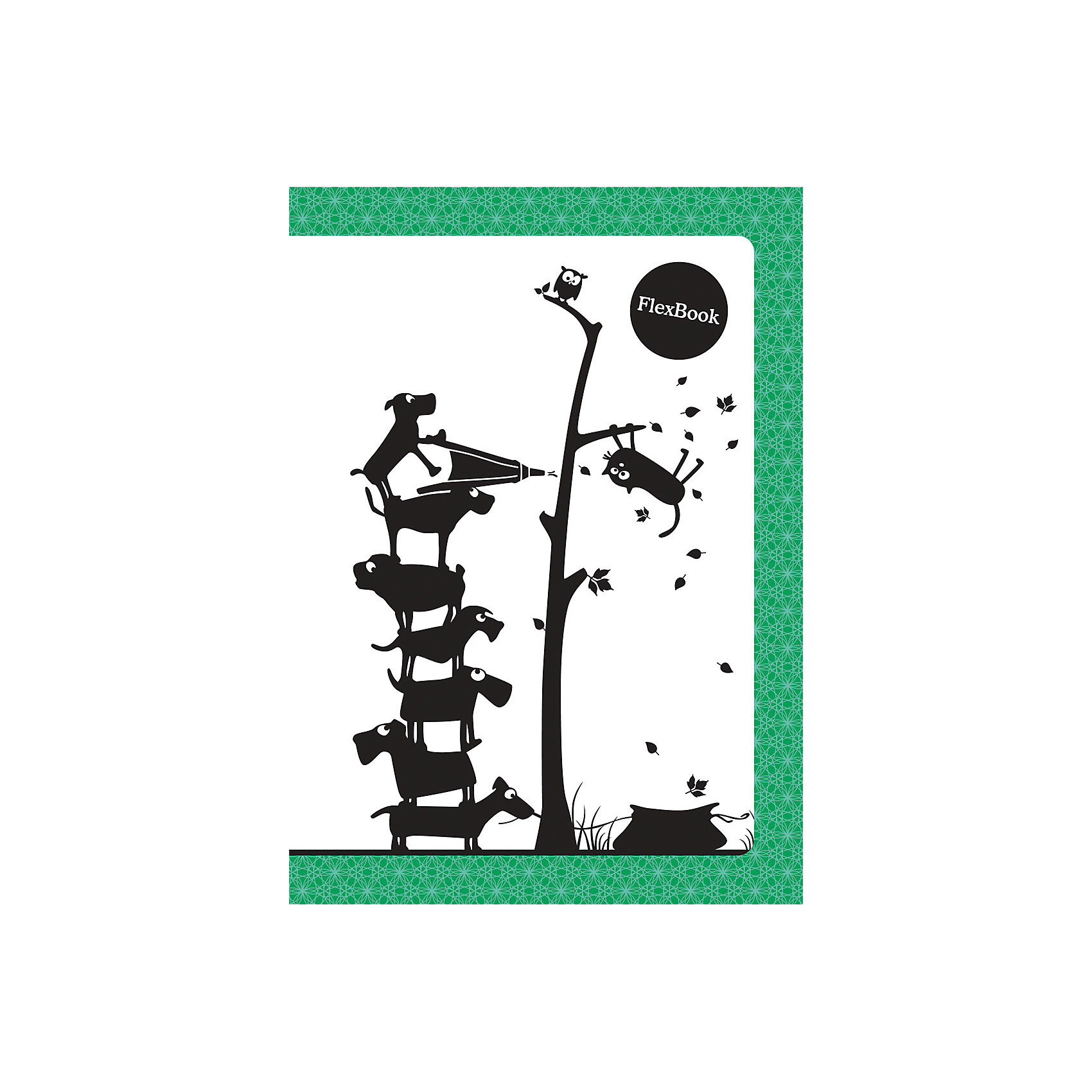 Зеленая тетрадь А5 Flex book 80 листовБумажная продукция<br>Зеленая тетрадь А5 Flex book 80 листов<br><br>Характеристики:<br><br>• Количество листов: 80<br>• Формат: А5<br>• Цвет: зеленая<br>• Вес: 184г<br>• Размер: 210х7х145мм<br><br>Тетрадь изготовлена по технологии Seihon: креплением тетради служит склейка с добавлением специального клея. Дополнительную прочность такого крепления гарантирует ПВХ корешок, который расположен вертикально на корешке каждой тетради.<br>Такое крепление позволяет тетради:<br>- разворачиваться на 360о<br>- сгибаться и складываться, не ломаясь<br>Такая тетрадь-трансформер будет удобной для всех. В такой тетради можно писать даже навесу. А еще – она будет великолепно подходить для левшей, так как ни спираль, ни скрепка не будут в этом случае мешать письму.<br>Мелованная обложка с полноцветной печатью и блок из белой бумаги плотностью 60г/м2. Тетрадь упакована в полиэтиленовый пакет.<br><br>Ширина мм: 210<br>Глубина мм: 7<br>Высота мм: 145<br>Вес г: 184<br>Возраст от месяцев: 84<br>Возраст до месяцев: 360<br>Пол: Унисекс<br>Возраст: Детский<br>SKU: 5390356