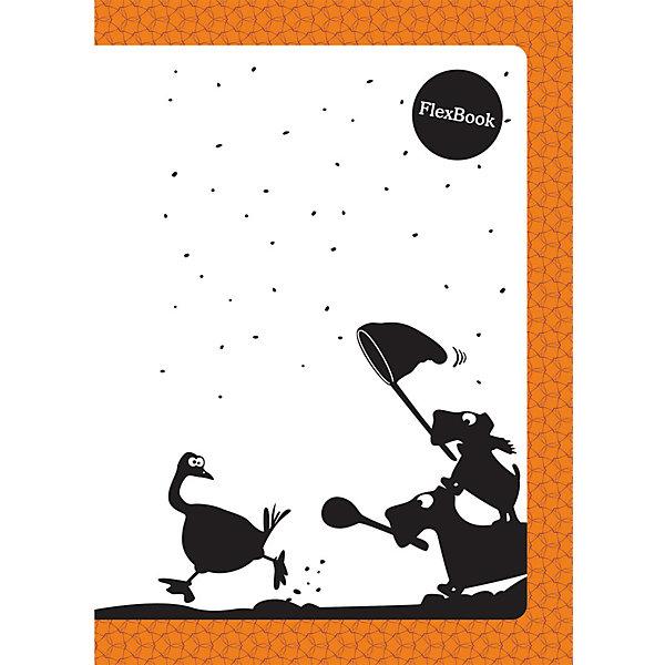 Оранжевая тетрадь А5 Flex book 80 листовБумажная продукция<br>Оранжевая тетрадь А5 Flex book 80 листов<br><br>Характеристики:<br><br>• Количество листов: 80<br>• Формат: А5<br>• Цвет: оранжевая<br>• Вес: 184г<br>• Размер: 210х7х145мм<br><br>Тетрадь изготовлена по технологии Seihon: креплением тетради служит склейка с добавлением специального клея. Дополнительную прочность такого крепления гарантирует ПВХ корешок, который расположен вертикально на корешке каждой тетради.<br>Такое крепление позволяет тетради:<br>- разворачиваться на 360о<br>- сгибаться и складываться, не ломаясь<br>Такая тетрадь-трансформер будет удобной для всех. В такой тетради можно писать даже навесу. А еще – она будет великолепно подходить для левшей, так как ни спираль, ни скрепка не будут в этом случае мешать письму.<br>Мелованная обложка с полноцветной печатью и блок из белой бумаги плотностью 60г/м2. Тетрадь упакована в полиэтиленовый пакет.<br>Ширина мм: 210; Глубина мм: 5; Высота мм: 145; Вес г: 144; Возраст от месяцев: 84; Возраст до месяцев: 360; Пол: Унисекс; Возраст: Детский; SKU: 5390358;