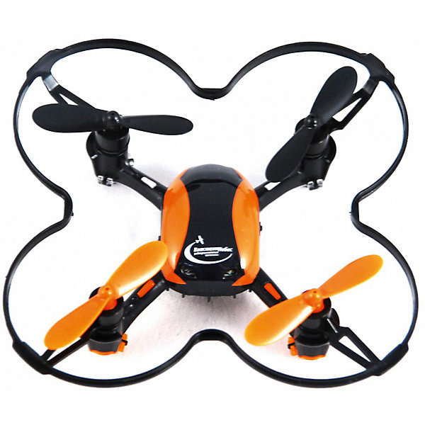 Квадрокоптер р/у «Нано коптер», Властелин небесИдеи подарков<br>Квадрокоптер р/у «Нано коптер», ВласелиНебес.<br><br>Характеристики:<br><br>- Комплектация: квадрокоптер, пульт дистанционного управления, запасные винты для квадрокоптера, USB-кабель для подзарядки<br>- Размеры игрушки: 9х9х2 см.<br>- Питание игрушки: 3,7 аккумулятор Li-poli<br>- Для работы ПДУ необходимы 3 батарейки типа ААА (в комплект не входят)<br>- 3 скоростных режима полета<br>- Время полета: 6-7 минут<br>- Материалы: высококачественный пластик, металл<br><br>Яркий квадрокоптер р/у Нано коптер станет превосходным подарком юному любителю техники. В набор входит удобный инфракрасный четырехканальный пульт, выполненный в той же стилистике, что и квадрокоптер. Сигнал передается на расстояние 40-50 метров. Квадрокоптер оборудован мощным 6-осевым гироскопом, стабилизирующим полет, благодаря чему малыш сможет играть не только на улице, но и в помещении. Оранжевые лопасти, стильный корпус и яркие сигнальные огни будут смотреться очень эффектно, особенно в темное время суток. Квадрокоптер р/у Нано коптер отлично держится в воздухе, может совершать не только повороты вправо и влево, но и выполнять мертвую петлю в любую сторону. Корпус квадрокоптера выполнен из легкого прочного пластика, выдерживающего удары о землю при случайном падении.<br><br>Квадрокоптер р/у «Нано коптер», ВласелиНебес можно купить в нашем интернет-магазине.<br><br>Ширина мм: 80<br>Глубина мм: 140<br>Высота мм: 205<br>Вес г: 210<br>Возраст от месяцев: 144<br>Возраст до месяцев: 2147483647<br>Пол: Мужской<br>Возраст: Детский<br>SKU: 5392764