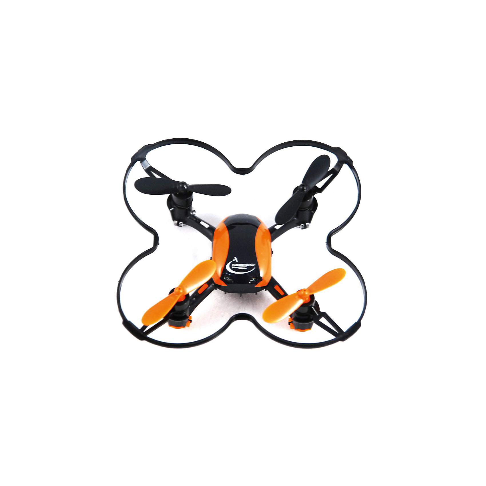 Квадрокоптер р/у «Нано коптер», Властелин небесКвадрокоптер р/у «Нано коптер», ВласелиНебес.<br><br>Характеристики:<br><br>- Комплектация: квадрокоптер, пульт дистанционного управления, запасные винты для квадрокоптера, USB-кабель для подзарядки<br>- Размеры игрушки: 9х9х2 см.<br>- Питание игрушки: 3,7 аккумулятор Li-poli<br>- Для работы ПДУ необходимы 3 батарейки типа ААА (в комплект не входят)<br>- 3 скоростных режима полета<br>- Время полета: 6-7 минут<br>- Материалы: высококачественный пластик, металл<br><br>Яркий квадрокоптер р/у Нано коптер станет превосходным подарком юному любителю техники. В набор входит удобный инфракрасный четырехканальный пульт, выполненный в той же стилистике, что и квадрокоптер. Сигнал передается на расстояние 40-50 метров. Квадрокоптер оборудован мощным 6-осевым гироскопом, стабилизирующим полет, благодаря чему малыш сможет играть не только на улице, но и в помещении. Оранжевые лопасти, стильный корпус и яркие сигнальные огни будут смотреться очень эффектно, особенно в темное время суток. Квадрокоптер р/у Нано коптер отлично держится в воздухе, может совершать не только повороты вправо и влево, но и выполнять мертвую петлю в любую сторону. Корпус квадрокоптера выполнен из легкого прочного пластика, выдерживающего удары о землю при случайном падении.<br><br>Квадрокоптер р/у «Нано коптер», ВласелиНебес можно купить в нашем интернет-магазине.<br><br>Ширина мм: 80<br>Глубина мм: 140<br>Высота мм: 205<br>Вес г: 210<br>Возраст от месяцев: 144<br>Возраст до месяцев: 2147483647<br>Пол: Мужской<br>Возраст: Детский<br>SKU: 5392764