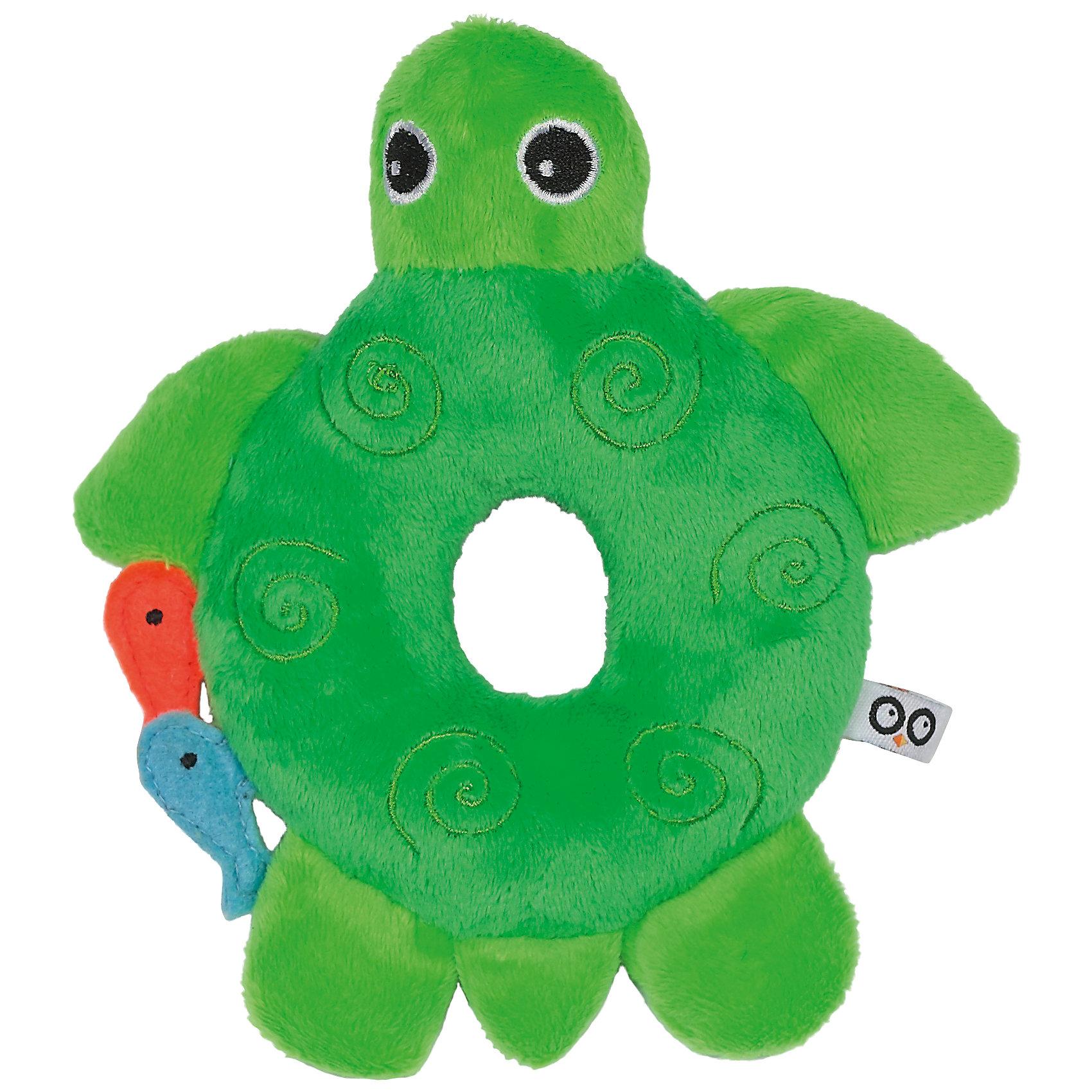 Погремушка Черепашка, Zoocchini, зелёныйПогремушки<br>Погремушка Черепашка, Zoocchini, зелёный.<br><br>Характеристики:<br><br>- Материал: полиэстер<br>- Цвет: зеленый<br>- Размер: 10х2,5х15 см.<br><br>Мягкая, приятная на ощупь погремушка в виде милой черепашки заставит вашего ребёнка улыбаться! Яркий цвет, приятный звук погремушки будут способствовать развитию слухового и цветового восприятия, мелкой моторики рук и концентрации внимания малыша. Погремушка Черепашка составит прекрасную пару одеялу с игрушкой Zoocchini.<br><br>Погремушку Черепашка, Zoocchini, зелёную можно купить в нашем интернет-магазине.<br><br>Ширина мм: 120<br>Глубина мм: 75<br>Высота мм: 205<br>Вес г: 72<br>Возраст от месяцев: 0<br>Возраст до месяцев: 12<br>Пол: Унисекс<br>Возраст: Детский<br>SKU: 5392933