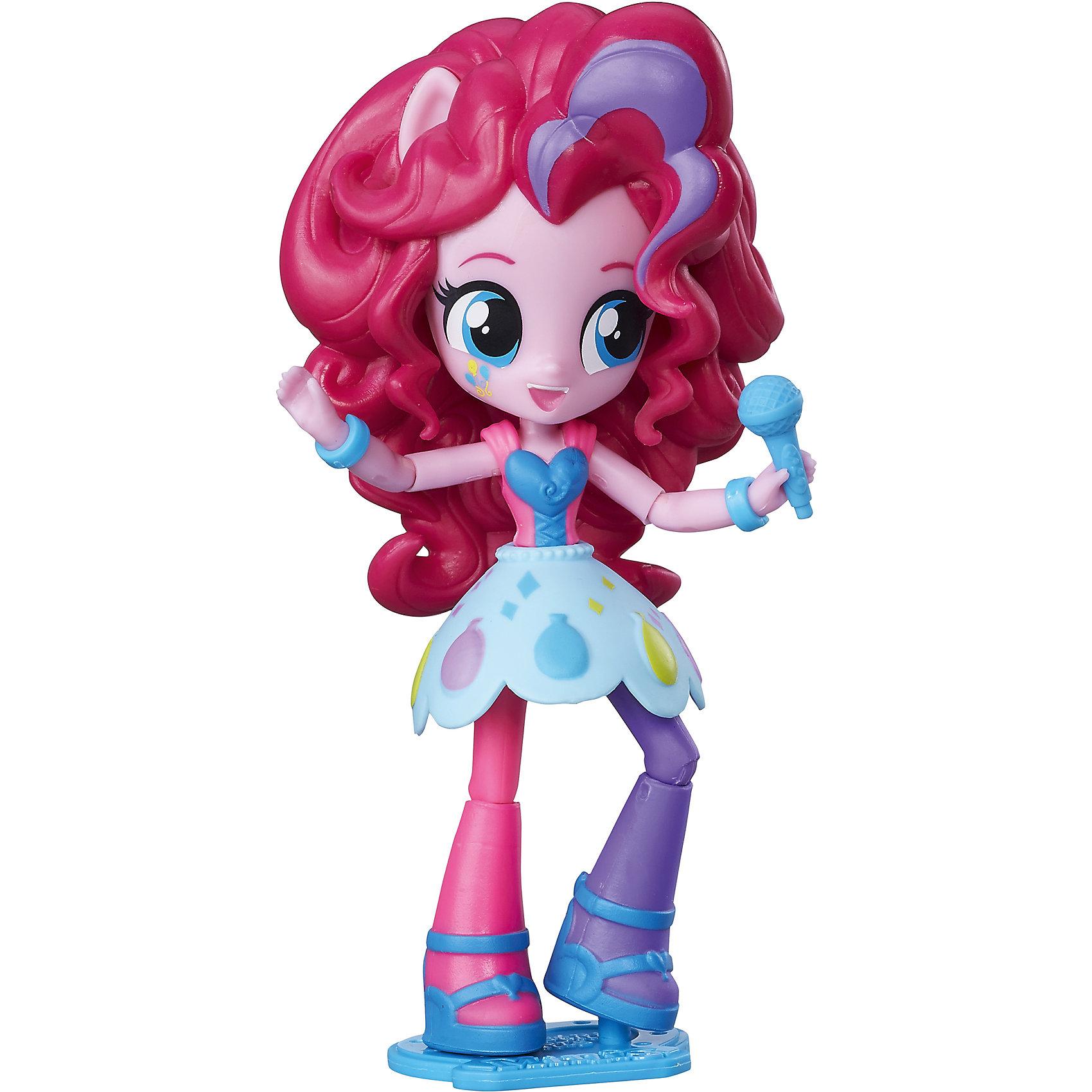 Мини-кукла Эквестрия Герлз - Пинки ПайКуклы-модели<br>Мини-кукла, Эквестрия герлз, C0839/C0868.<br><br>Характеристика: <br><br>• Материал: пластик. <br>• Размер фигурки: 12 см. <br>• Отличная детализация. <br>• Голова, руки, ноги подвижные (9 точек артикуляции). <br>• Реалистичные позы. <br><br>Очаровательная Пинки Пай обязательно понравится всем поклонницам My little Pony (Май литл Пони)! Куколка прекрасно детализирована и реалистично раскрашена, имеет большие выразительные глаза и яркий наряд, очень похожа на героиню мультсериала Equestria Girls (Эквестрия герлз). Собери всех куколок Equestria Girls (Девушки Эквестрии) проигрывай любимые сюжеты из мультфильма или придумывай свои истории в стиле My little Pony (Моя маленькая Пони). <br><br>Мини-куклу, Эквестрия герлз, C0839/C0868, можно купить в нашем интернет-магазине.<br><br>Ширина мм: 62<br>Глубина мм: 127<br>Высота мм: 190<br>Вес г: 148<br>Возраст от месяцев: 60<br>Возраст до месяцев: 144<br>Пол: Женский<br>Возраст: Детский<br>SKU: 5395764
