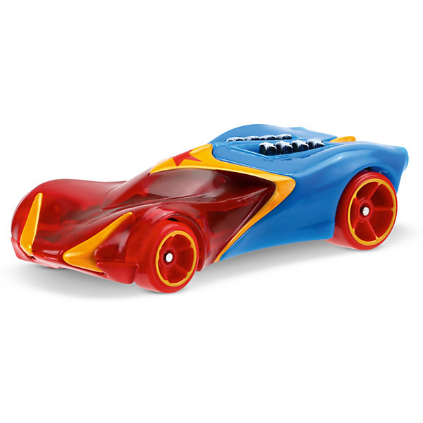 Машинка DCSHG Чудо-женщина, Hot WheelsМашинки<br>Характеристики товара:<br><br>• возраст от 3 лет;<br>• материал: пластик, металл;<br>• масштаб 1:64;<br>• размер упаковки 14х16,5х4,5 см;<br>• вес упаковки 85 гр.;<br>• страна производитель: Тайланд.<br><br>Машинка DCSHG Чудо-женщина Hot Wheels выполнена в стиле известной героини Чудо-женщины из фильма «Бэтмен против Супермена». Машинка выполнена из качественного материала. Она понравится не только детям, но и может стать частью коллекции любителей собирать модели автомобилей.<br><br>Машинку DCSHG Чудо-женщина Hot Wheels можно приобрести в нашем интернет-магазине.<br>Ширина мм: 165; Глубина мм: 45; Высота мм: 140; Вес г: 85; Возраст от месяцев: 36; Возраст до месяцев: 120; Пол: Мужской; Возраст: Детский; SKU: 5396414;
