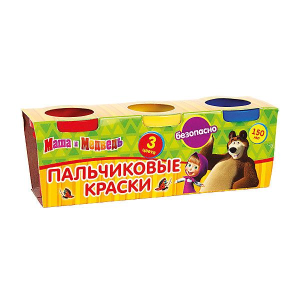 Пальчиковые краски Multiart Маша и медведь 3 штуки по 50мл.Пальчиковые краски<br>Пальчиковые краски MULTIART с изображением любимых героев мультфильма Маша и медведь. В упаковке 3 цвета по 50 мл. Цвета: красный, желтый, синий. Краски нетоксичны и абсолютно безопасны для детей. Легко отстирываются и смываются водой.<br><br>Ширина мм: 50<br>Глубина мм: 60<br>Высота мм: 170<br>Вес г: 220<br>Возраст от месяцев: 12<br>Возраст до месяцев: 60<br>Пол: Женский<br>Возраст: Детский<br>SKU: 5396497