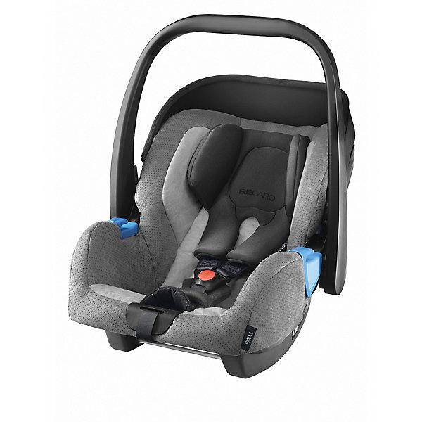 Автокресло RECARO Privia 0-13 кг, ShadowГруппа 0+  (до 13 кг)<br>Характеристики: <br><br>• группа автокресла: 0+;<br>• вес ребенка: до 13 кг;<br>• возраст ребенка: от рождения до 15 месяцев;<br>• способ установки: лицом против хода движения автомобиля;<br>• способ крепления: штатными ремнями безопасности или на базу RecaroFix (база приобретается отдельно);<br>• 3-х точечные ремни безопасности, регулируются по длине;<br>• вкладыш для новорожденного;<br>• регулируемый капюшон;<br>• пластиковая ручка для переноски;<br>• съемные чехлы автокресла, стирка при температуре 30 градусов;<br>• материал: пластик, полиэстер;<br>• размеры автокресла: 65х44х57 см;<br>• вес: 3,7 кг.<br><br>Автокресло Privia – полноценная автолюлька для путешествий с новорожденным. Ручка для переноски дает возможность извлечь автокресло из салона автомобиля даже со спящим малышом, не потревожив его сон. Автокресло устанавливается на шасси различных колясок с помощью адаптеров. <br><br>Автокресло Privia 0-13 кг., Recaro, Shadow можно купить в нашем интернет-магазине.<br>Ширина мм: 650; Глубина мм: 440; Высота мм: 570; Вес г: 3700; Возраст от месяцев: 0; Возраст до месяцев: 12; Пол: Унисекс; Возраст: Детский; SKU: 5396747;