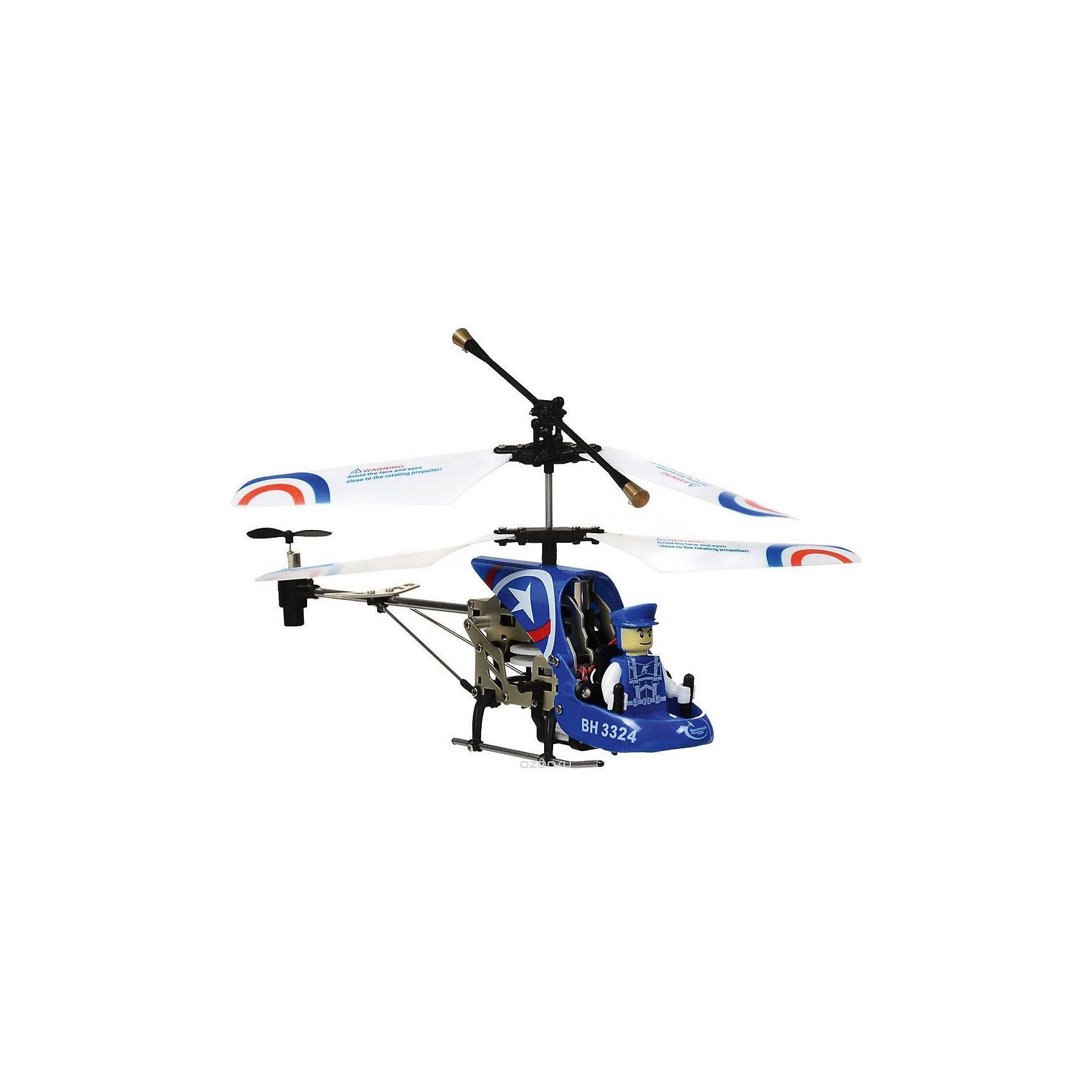 Вертолет на р/у Патруль, синий, Властелин небесВертолет на р/у Патруль, синий, Властелин небес<br><br>Характеристики:<br><br>• вы можете управлять вертолетом на расстоянии до 10 метров<br>• вертолёт летает вверх, вниз, назад, вперёд, а также может зависать в воздухе и совершать повороты<br>• сигнальные огни позволяют совершать полеты в темное время суток<br>• заряжается с помощью USB кабеля<br>• размер вертолета: 21х5х9 см<br>• батарейки: АА - 6 шт. (не входят в комплект) <br>• размер упаковки: 39х14х10 см<br>• в комплекте: вертолет, пульт управления, USB кабель, две запасные лопасти, инструкция<br>• цвет: синий<br><br>Игрушки на радиоуправлении - мечта многих мальчишек. Вертолет от Властелин небес позволит вам осуществить мечту ребенка. Им можно управлять на расстоянии до 10 метров! Вертолет может летать вниз, вверх, в стороны, а также совершать захватывающие повороты и зависать в воздухе. Кроме того, вертолет оснащен светящимися сигнальными огнями, которые сделают игрушку заметной в темноте. За штурвалом находится пилот, в форме и фуражке в тон вертолета. Такой замечательный вертолет никогда не даст ребенку заскучать!<br><br>Игрушка заряжается с помощью USB кабеля, для работы необходимы батарейки АА (6 штук).<br><br>Вертолет на р/у Патруль, синий, Властелин небес можно купить в нашем интернет-магазине.<br><br>Ширина мм: 95<br>Глубина мм: 390<br>Высота мм: 140<br>Вес г: 540<br>Возраст от месяцев: 144<br>Возраст до месяцев: 2147483647<br>Пол: Мужской<br>Возраст: Детский<br>SKU: 5397077