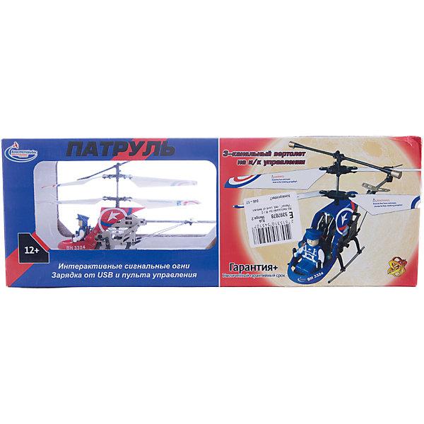 Вертолет на р/у Патруль, красный, Властелин небесРадиоуправляемые вертолёты<br>Вертолет на р/у Патруль, красный, Властелин небес<br><br>Характеристики:<br><br>• вы можете управлять вертолетом на расстоянии до 10 метров<br>• вертолёт летает вверх, вниз, назад, вперёд, а также может зависать в воздухе и совершать повороты<br>• сигнальные огни позволяют совершать полеты в темное время суток<br>• заряжается с помощью USB кабеля<br>• размер вертолета: 21х5х9 см<br>• батарейки: АА - 6 шт. (не входят в комплект) <br>• размер упаковки: 39х14х10 см<br>• в комплекте: вертолет, пульт управления, USB кабель, две запасные лопасти, инструкция<br>• цвет: красный<br><br>Игрушки на радиоуправлении - мечта многих мальчишек. Вертолет от Властелин небес позволит вам осуществить мечту ребенка. Им можно управлять на расстоянии до 10 метров! Вертолет может летать вниз, вверх, в стороны, а также совершать захватывающие повороты и зависать в воздухе. Кроме того, вертолет оснащен светящимися сигнальными огнями, которые сделают игрушку заметной в темноте. За штурвалом находится пилот, в форме и фуражке в тон вертолета. Такой замечательный вертолет никогда не даст ребенку заскучать!<br><br>Игрушка заряжается с помощью USB кабеля, для работы необходимы батарейки АА (6 штук).<br><br>Вертолет на р/у Патруль, красный, Властелин небес можно купить в нашем интернет-магазине.<br>Ширина мм: 95; Глубина мм: 390; Высота мм: 140; Вес г: 540; Возраст от месяцев: 144; Возраст до месяцев: 2147483647; Пол: Мужской; Возраст: Детский; SKU: 5397078;